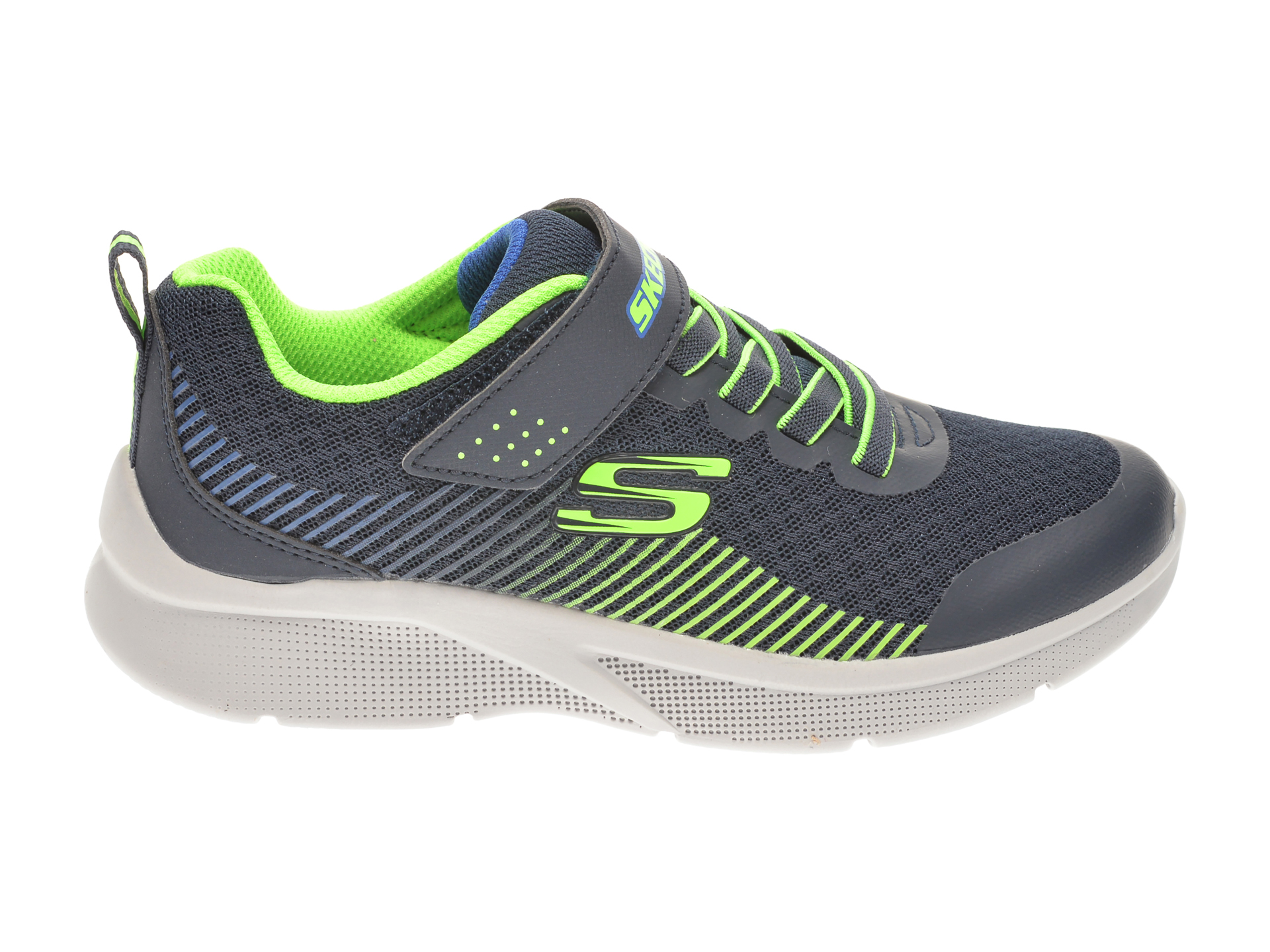 Pantofi sport SKECHERS bleumarin, MICROSPEC GORZA, din material textil - 1