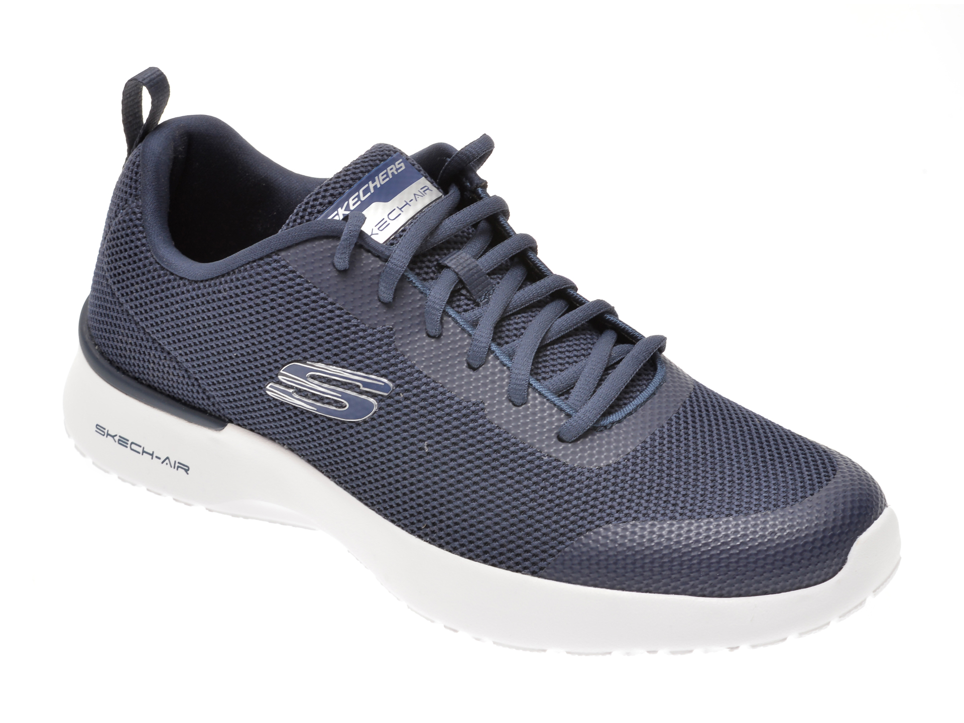 Pantofi sport SKECHERS bleumarin, SKECH-AIR DYNAMIGHT WINLY, din material textil imagine