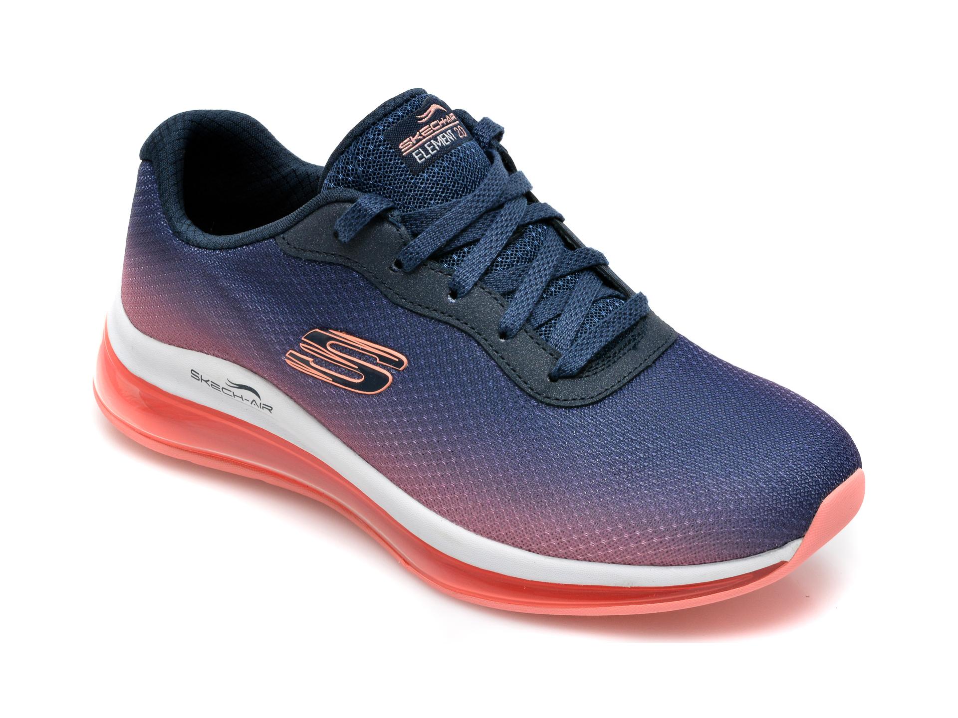 Pantofi Sport Skechers Bleumarin, Skech-air Element 2.0, Din Material Textil