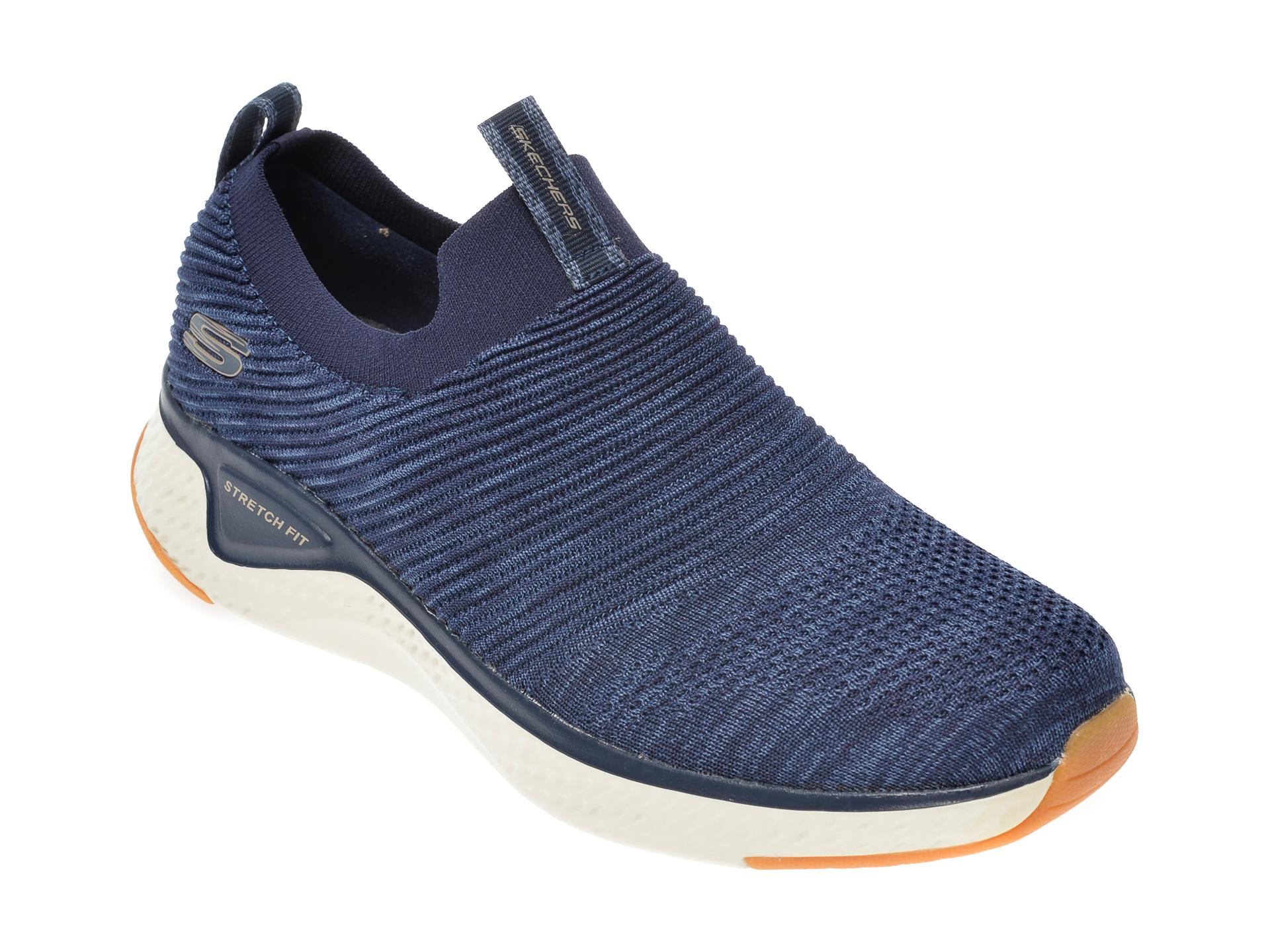 Pantofi sport SKECHERS bleumarin, Solar Fuse, din material textil imagine