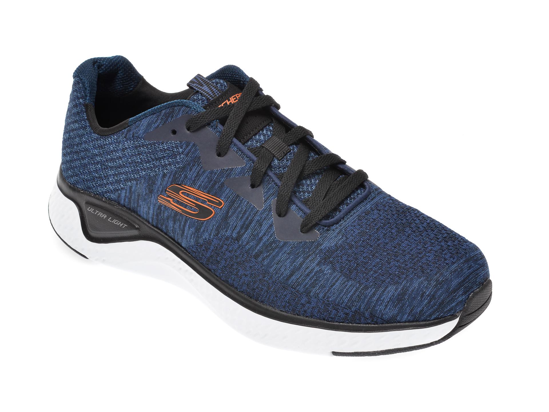 Pantofi sport SKECHERS bleumarin, Solar Fuse Kryzik, din material textil imagine