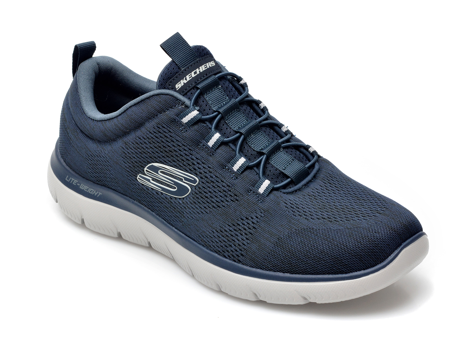 Pantofi sport SKECHERS bleumarin, Summits Louvin, din material textil imagine otter.ro