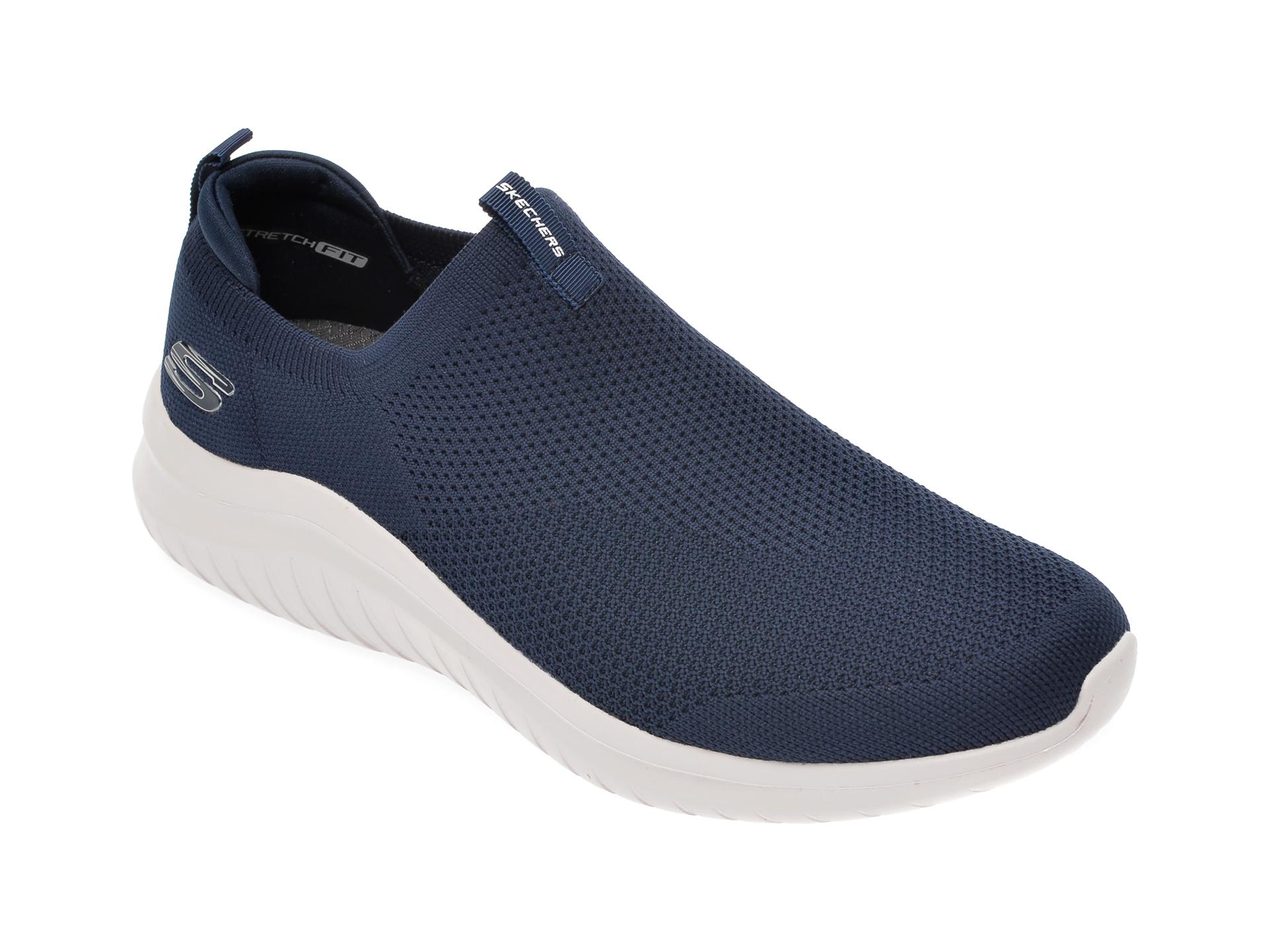 Pantofi sport SKECHERS bleumarin, Ultra Flex 2.0, din material textil imagine