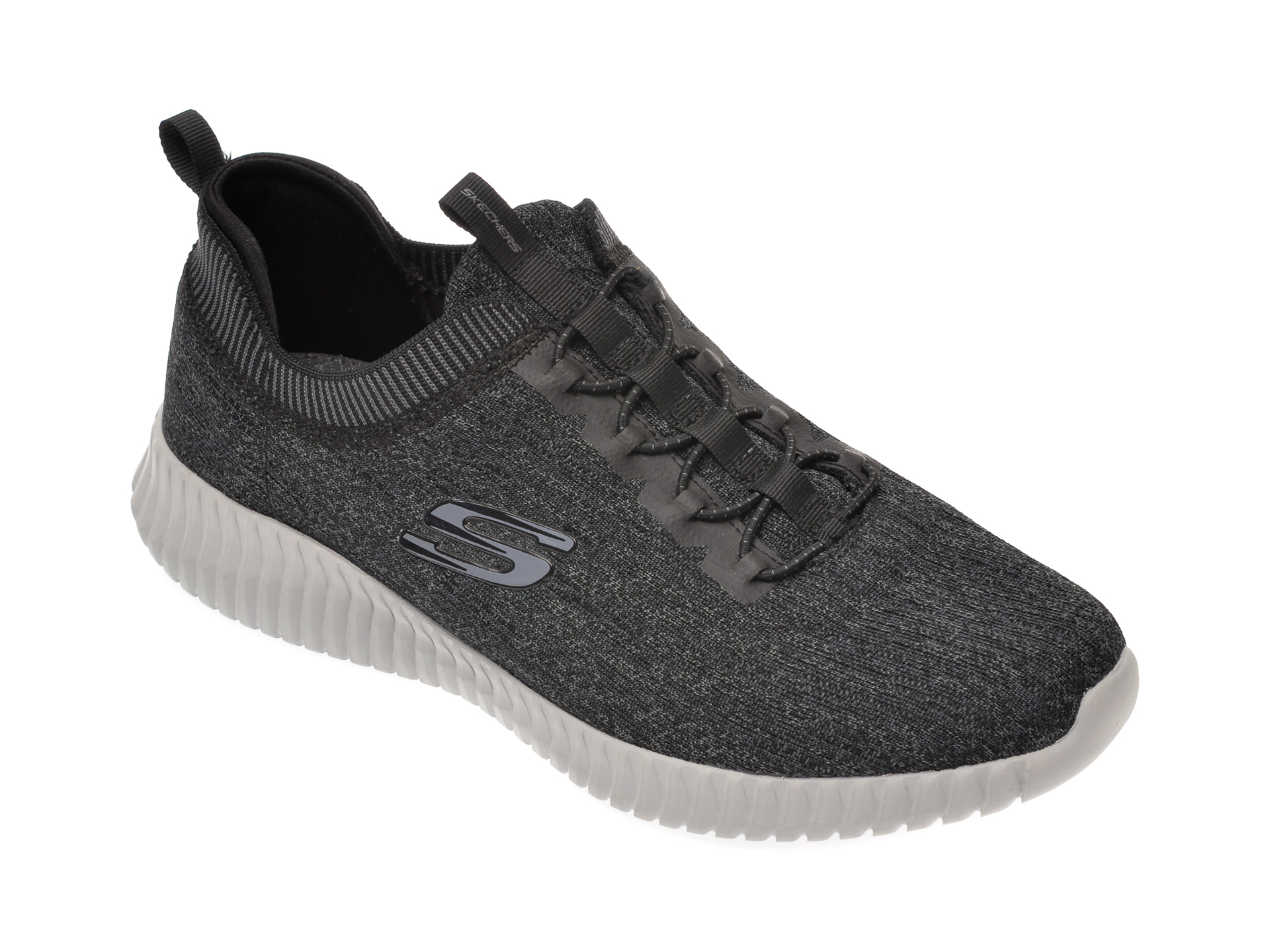 Pantofi sport SKECHERS gri, Elite Flex Hartnell, din material textil imagine