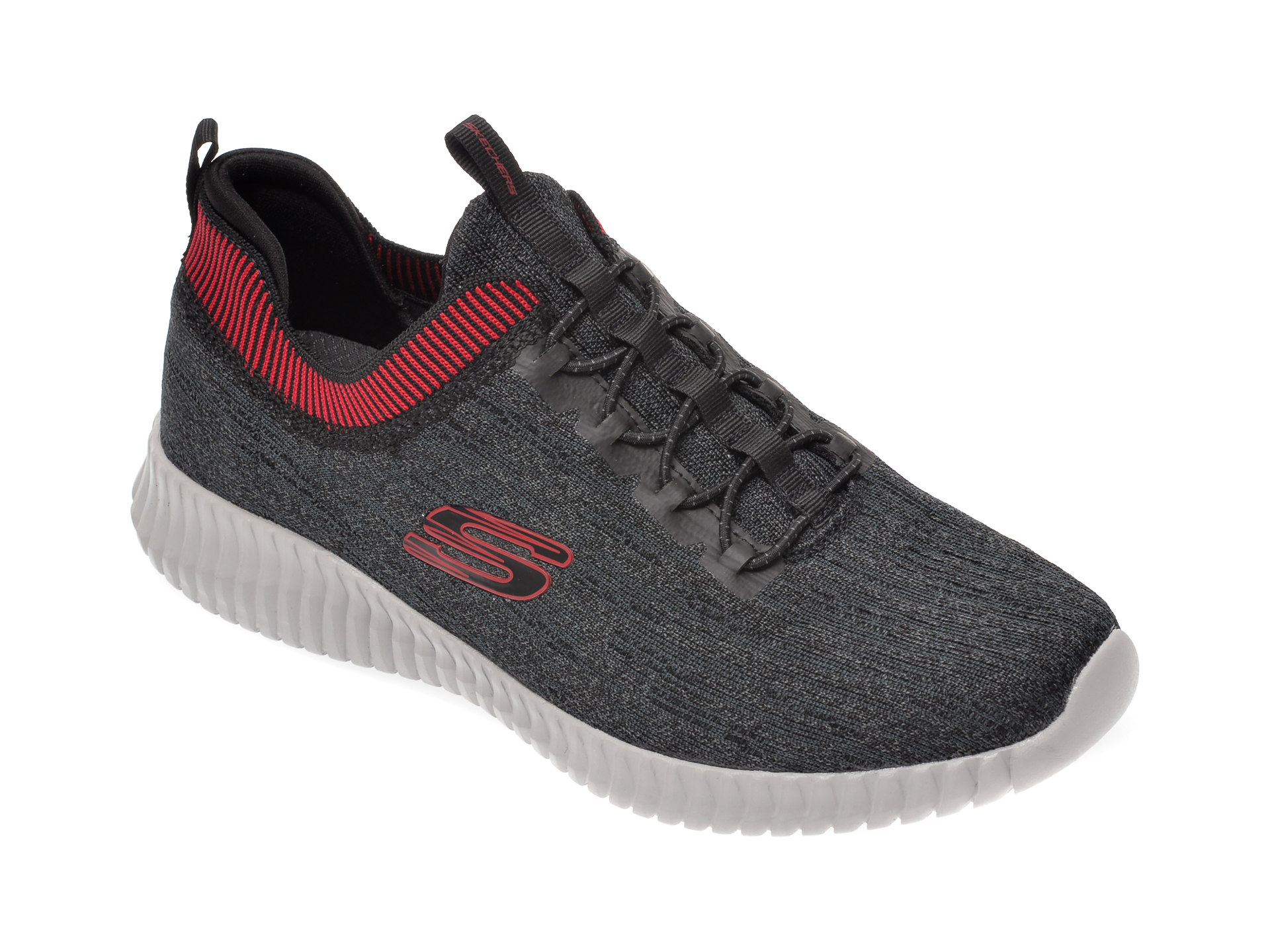 Pantofi sport SKECHERS gri, Elite Flex Hartnell, din material textil imagine