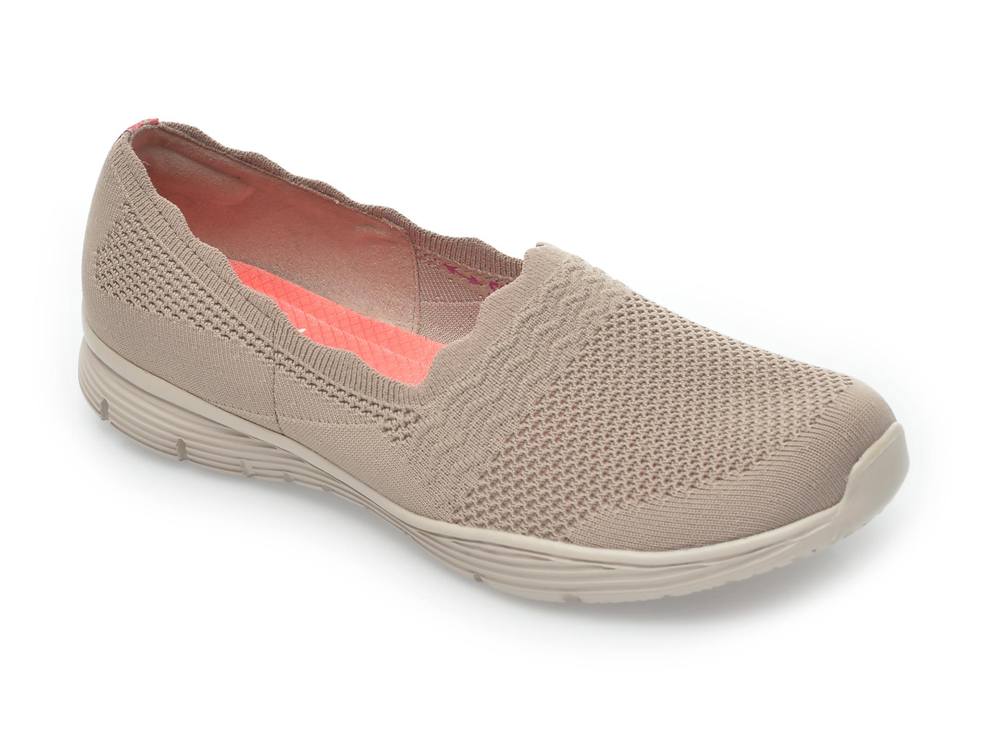 Pantofi sport SKECHERS gri, Seagerumpire, din material textil New