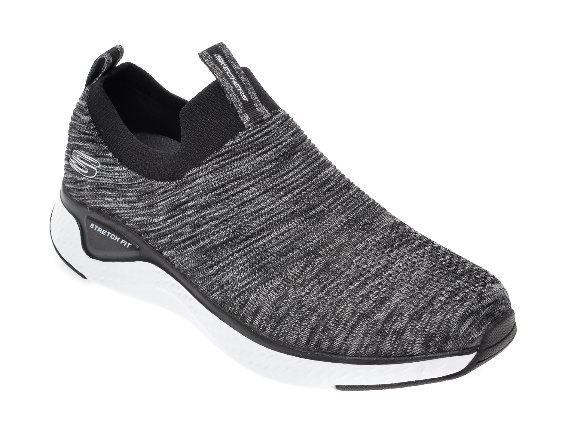 Pantofi sport SKECHERS gri, Solar Fuse, din material textil imagine