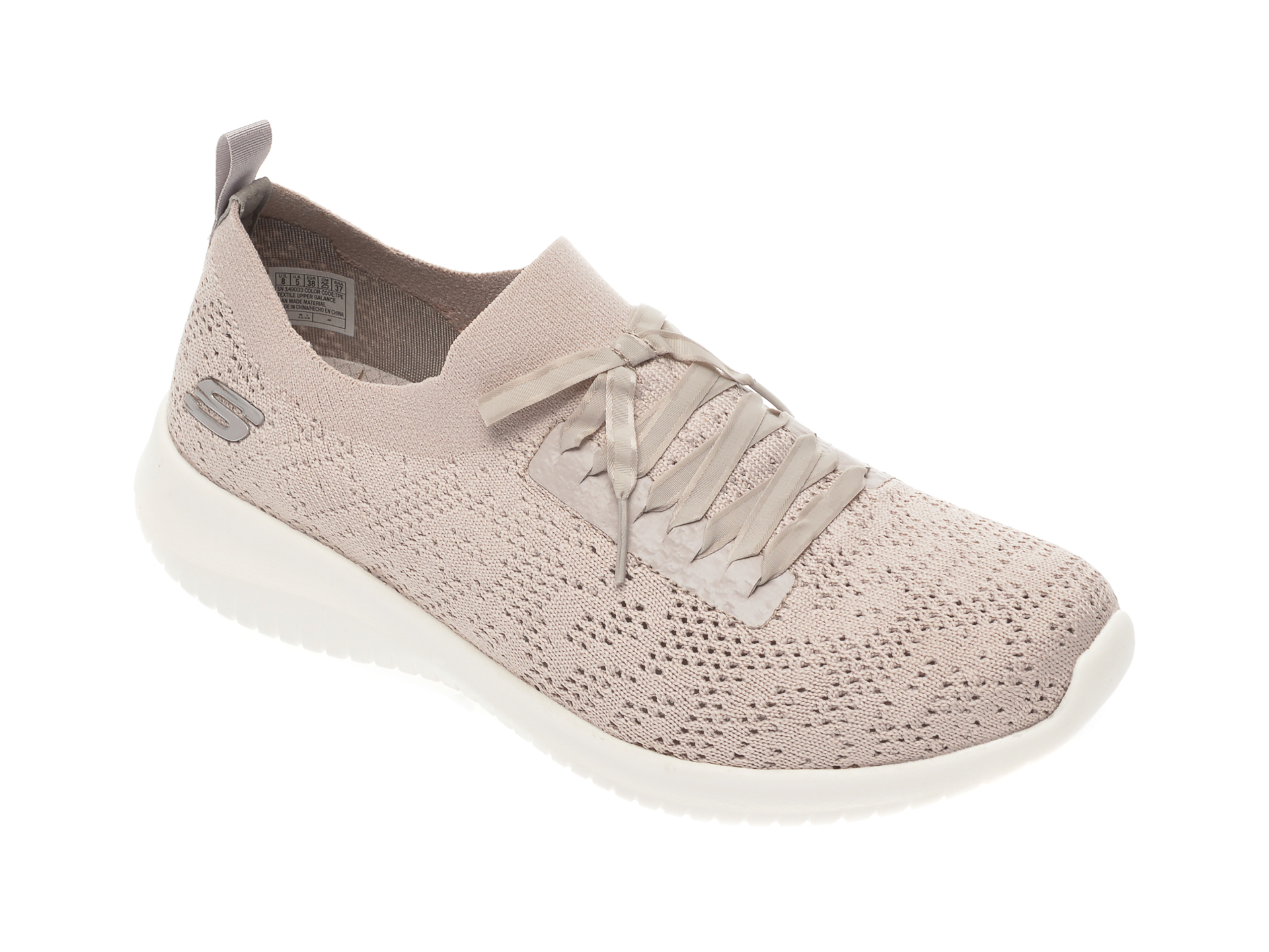 Pantofi sport SKECHERS gri, Ultra Flex, din material textil imagine