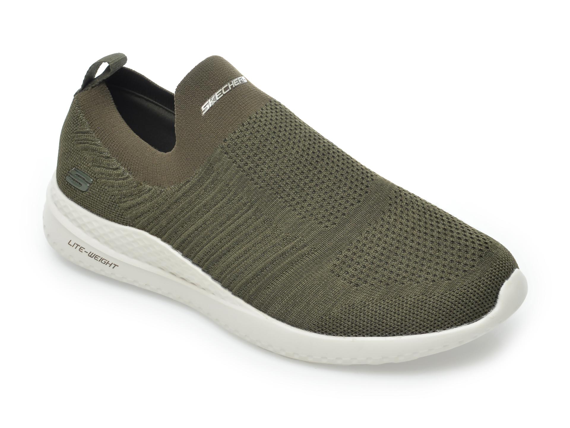Pantofi sport SKECHERS kaki, Matera Graftel, din material textil imagine