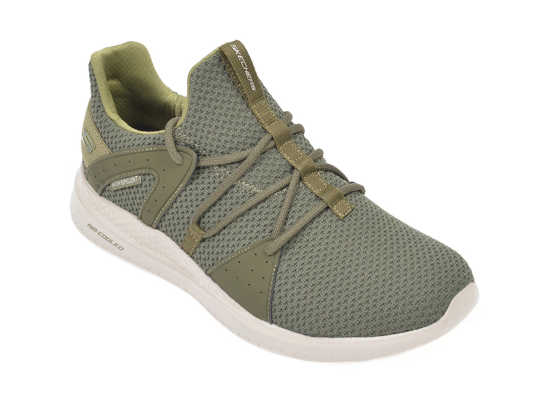 Pantofi sport SKECHERS kaki, Materam Strongland, din material textil imagine