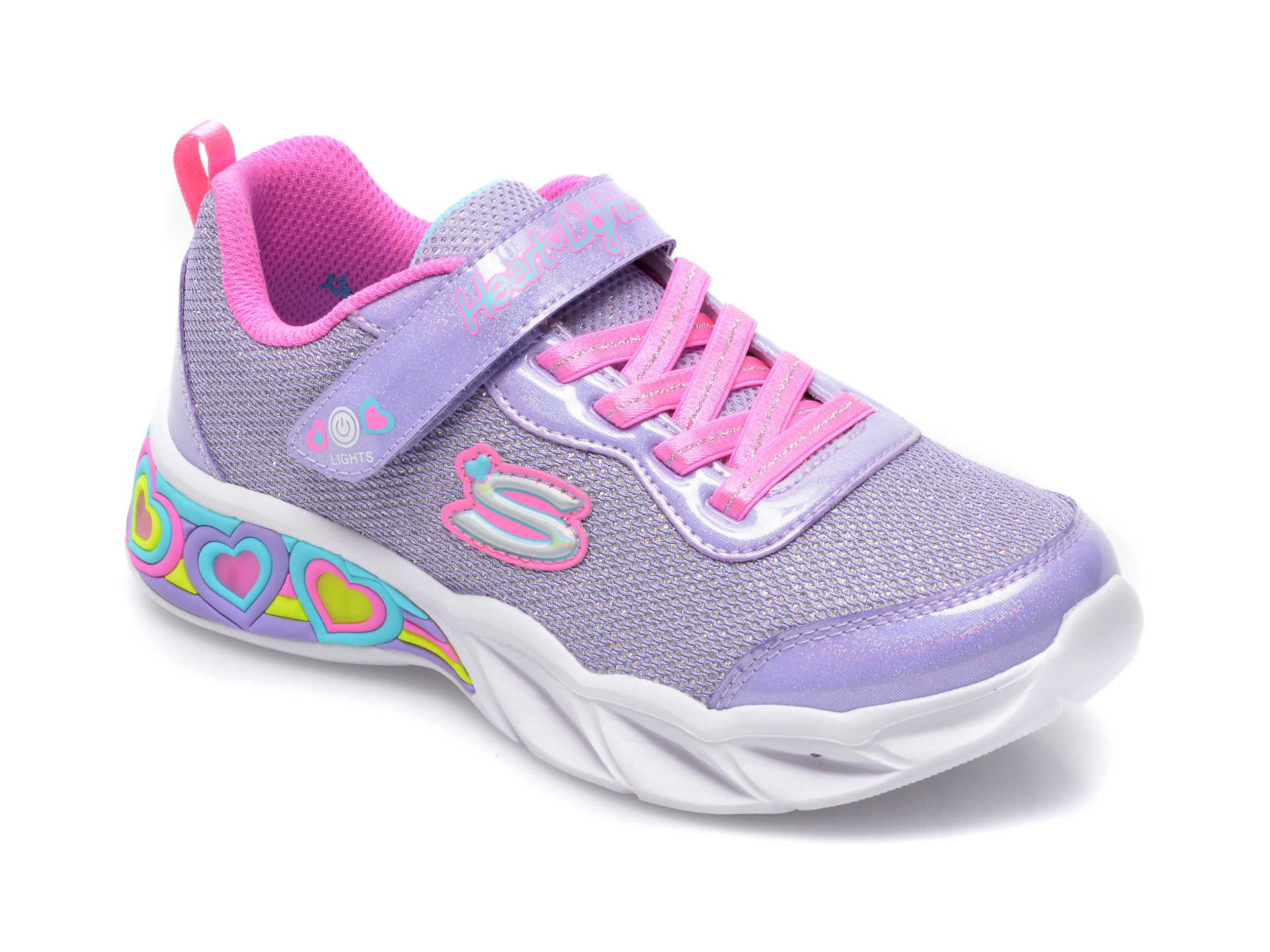 Pantofi sport SKECHERS mov, 302304L, din material textil