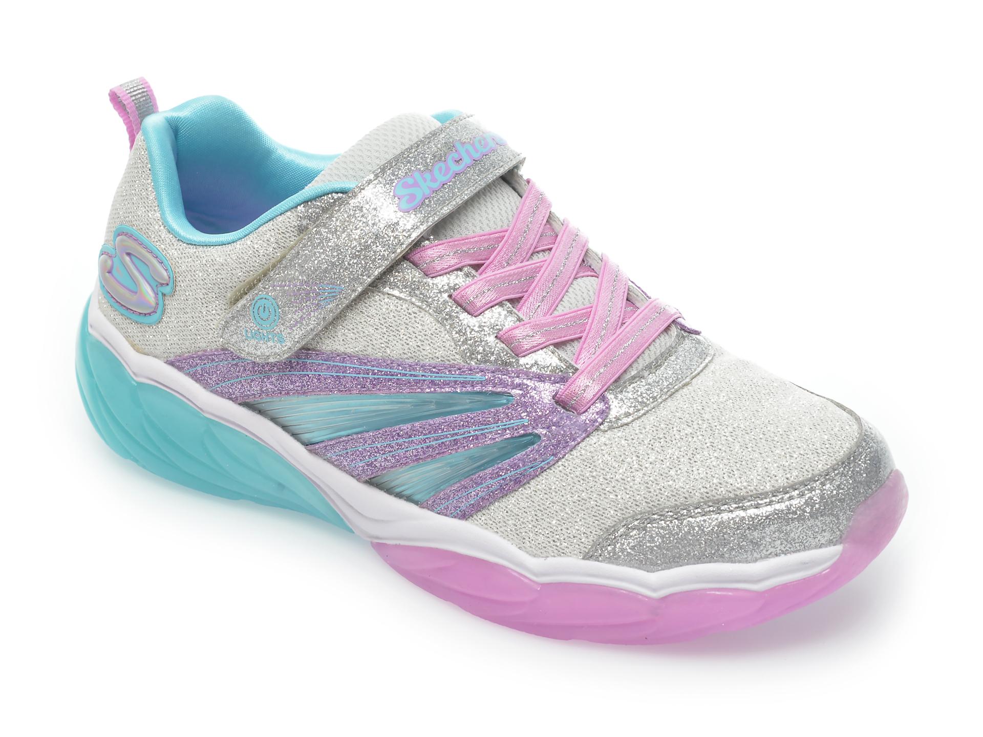 Pantofi sport SKECHERS multicolor, 302043L, din material textil imagine otter.ro