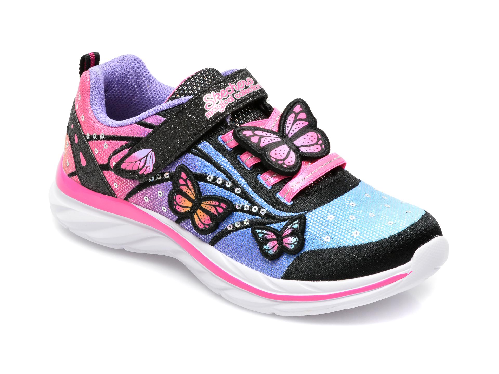 Pantofi sport SKECHERS multicolor, 302207L, din material textil