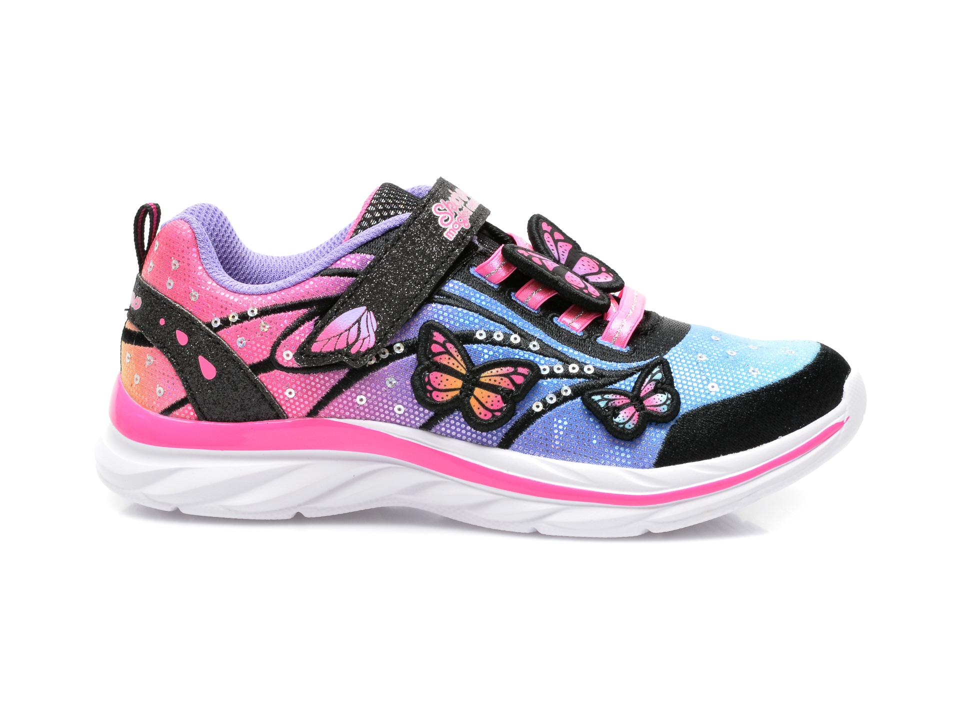 Pantofi sport SKECHERS multicolor, 302207L, din material textil - 1