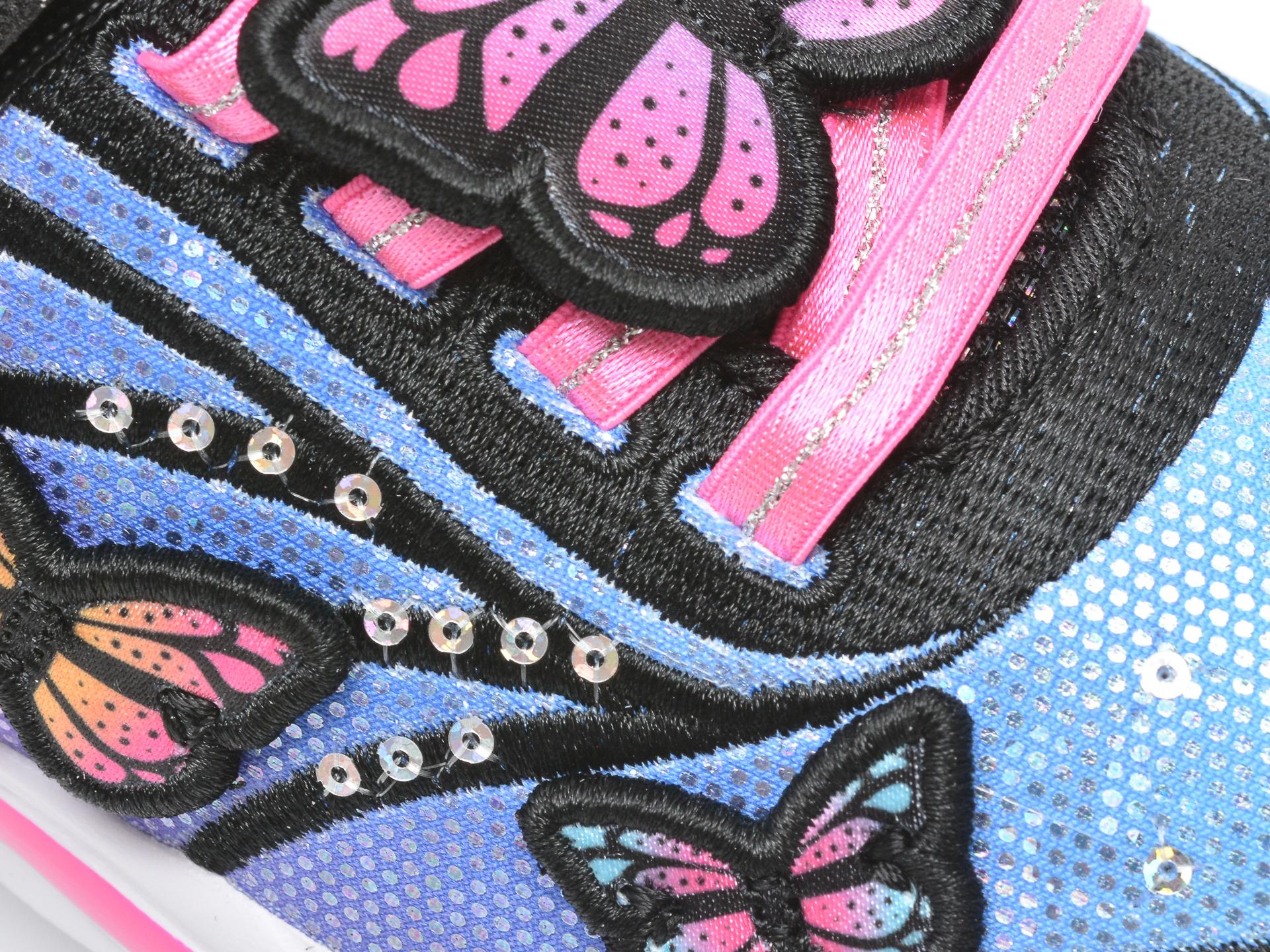 Pantofi sport SKECHERS multicolor, 302207L, din material textil - 2