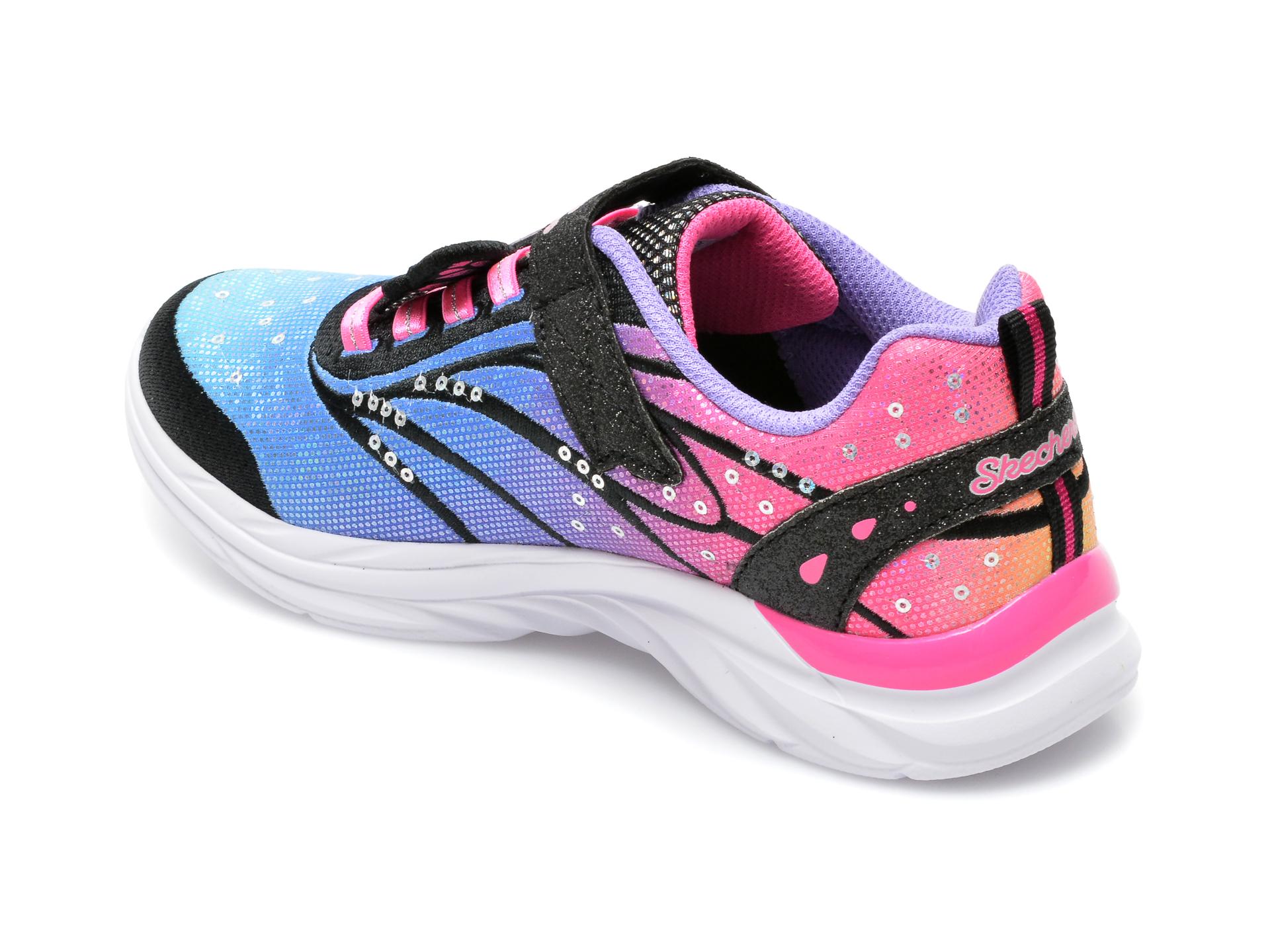 Pantofi sport SKECHERS multicolor, 302207L, din material textil - 5