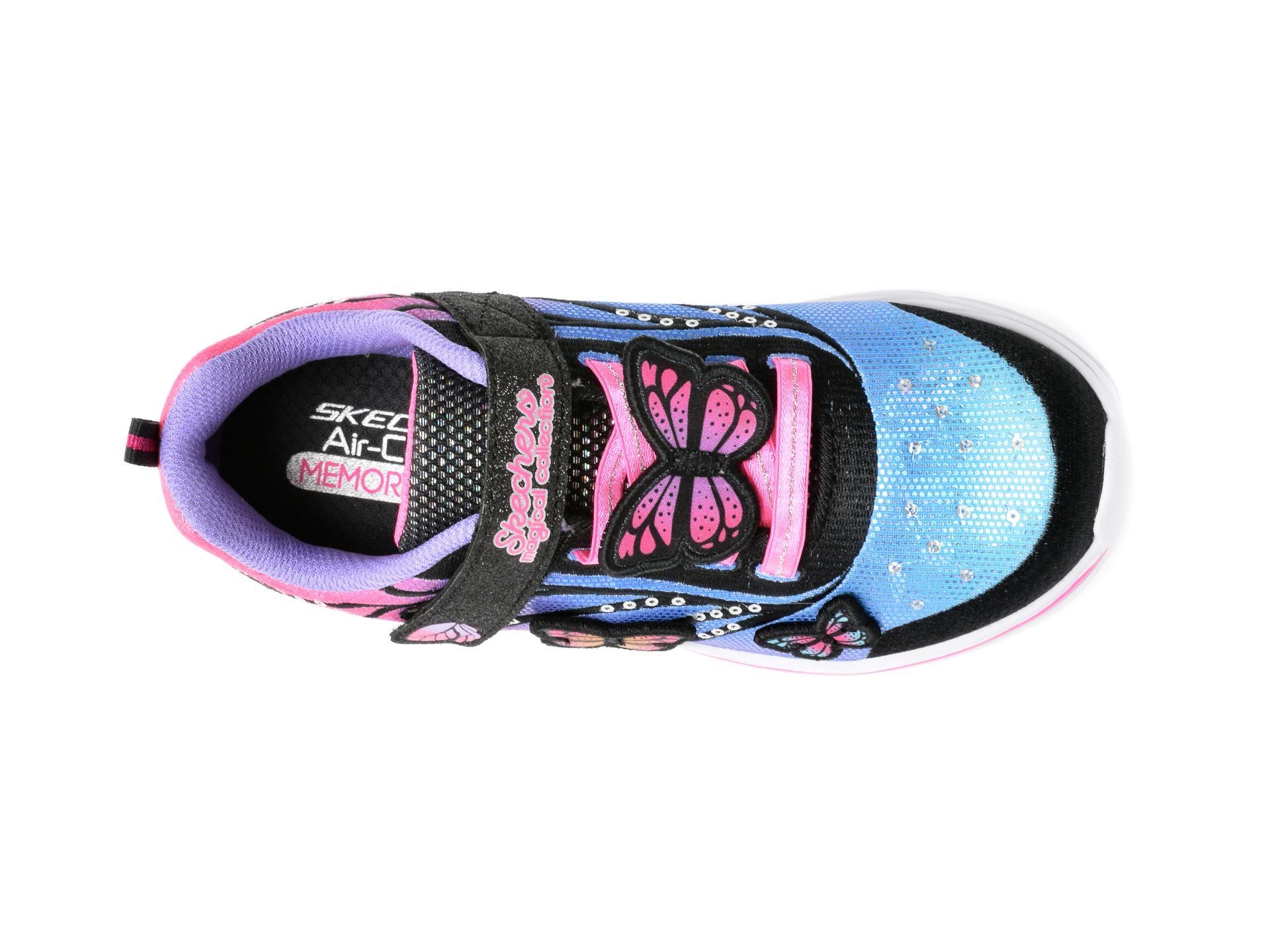 Pantofi sport SKECHERS multicolor, 302207L, din material textil - 6
