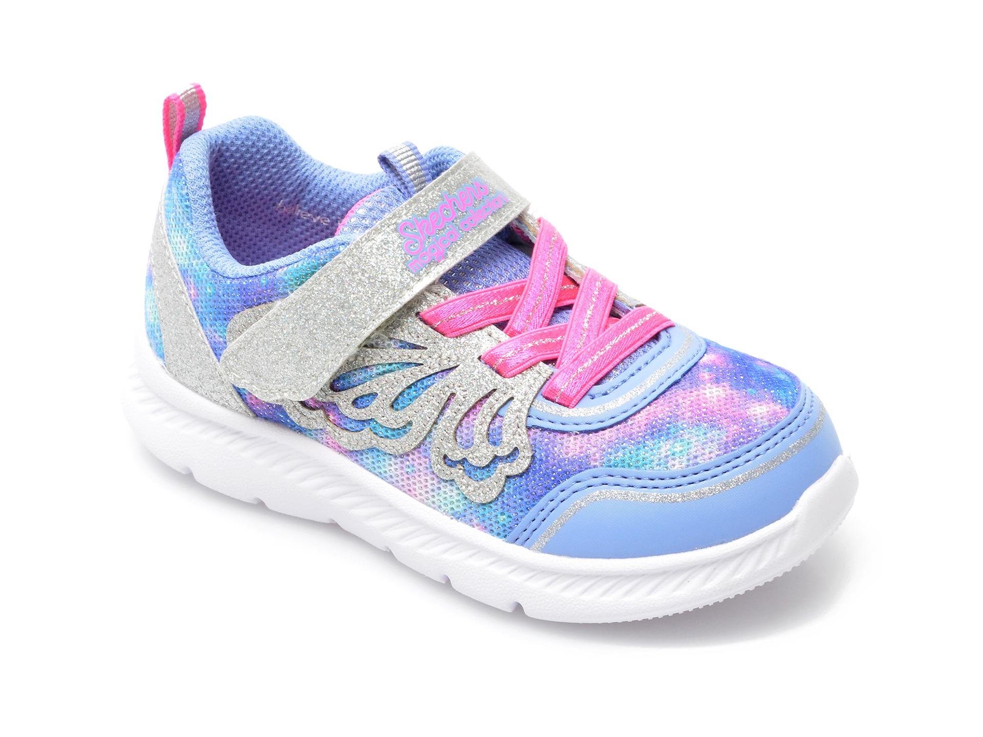 Pantofi sport SKECHERS multicolor, Comfy Flex 2.0, din material textil imagine otter.ro