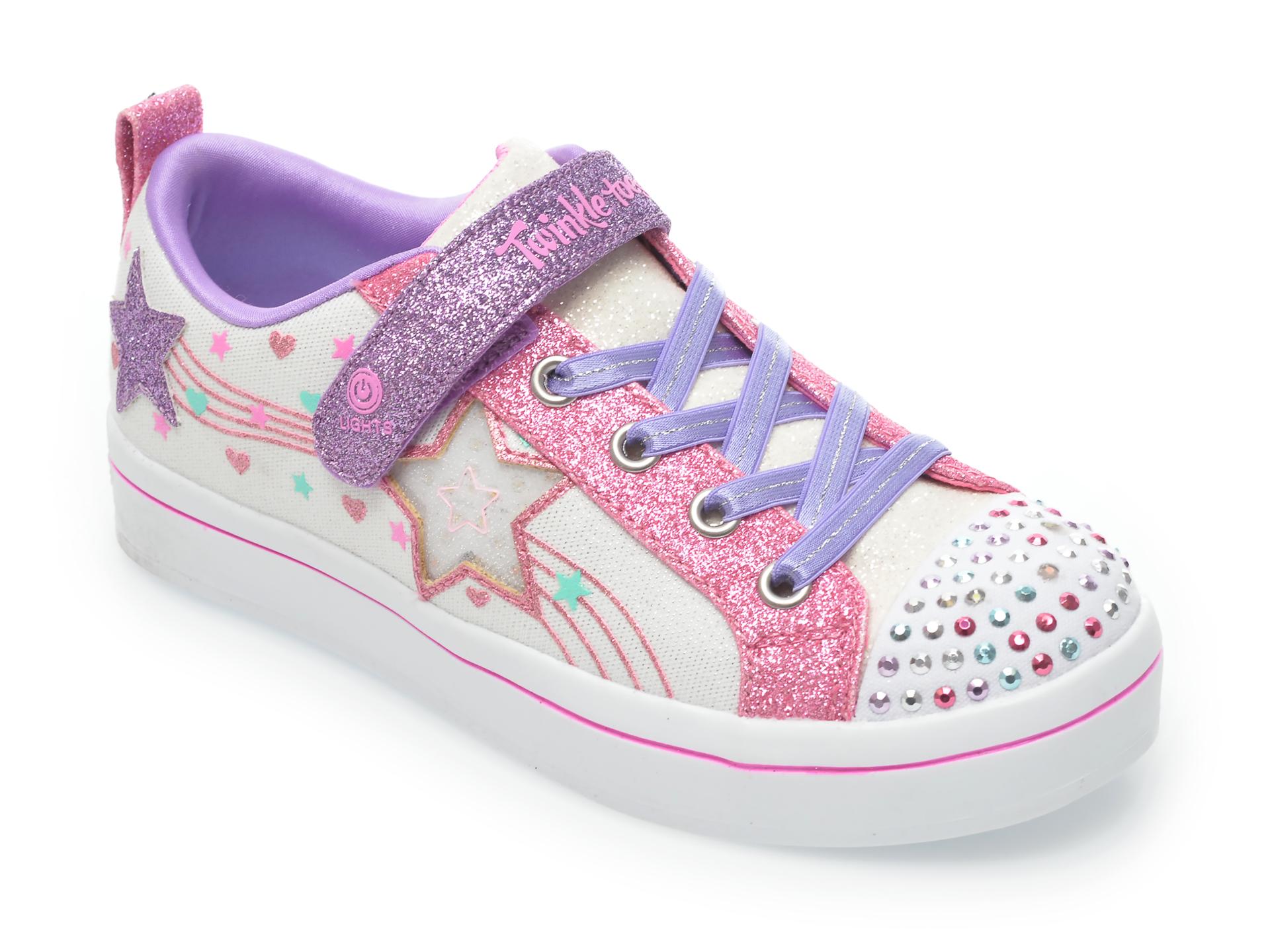 Pantofi sport SKECHERS multicolori, 314030L, din material textil imagine otter.ro