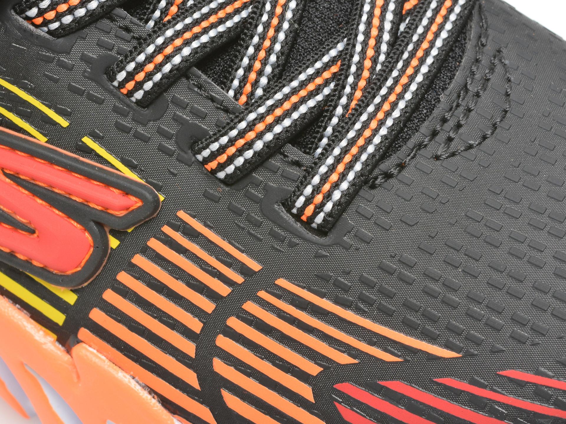 Pantofi sport SKECHERS multicolori, FLEX-GLOW ELITE, din piele ecologica - 2