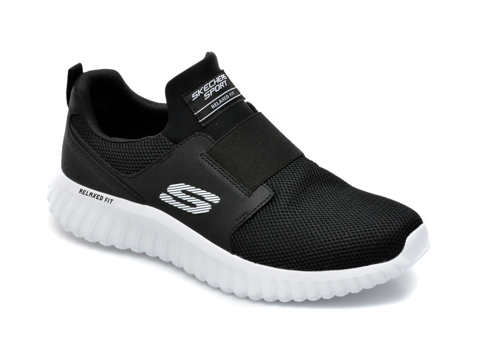 Pantofi sport SKECHERS negri, Depth Charge 2.0, din material textil imagine