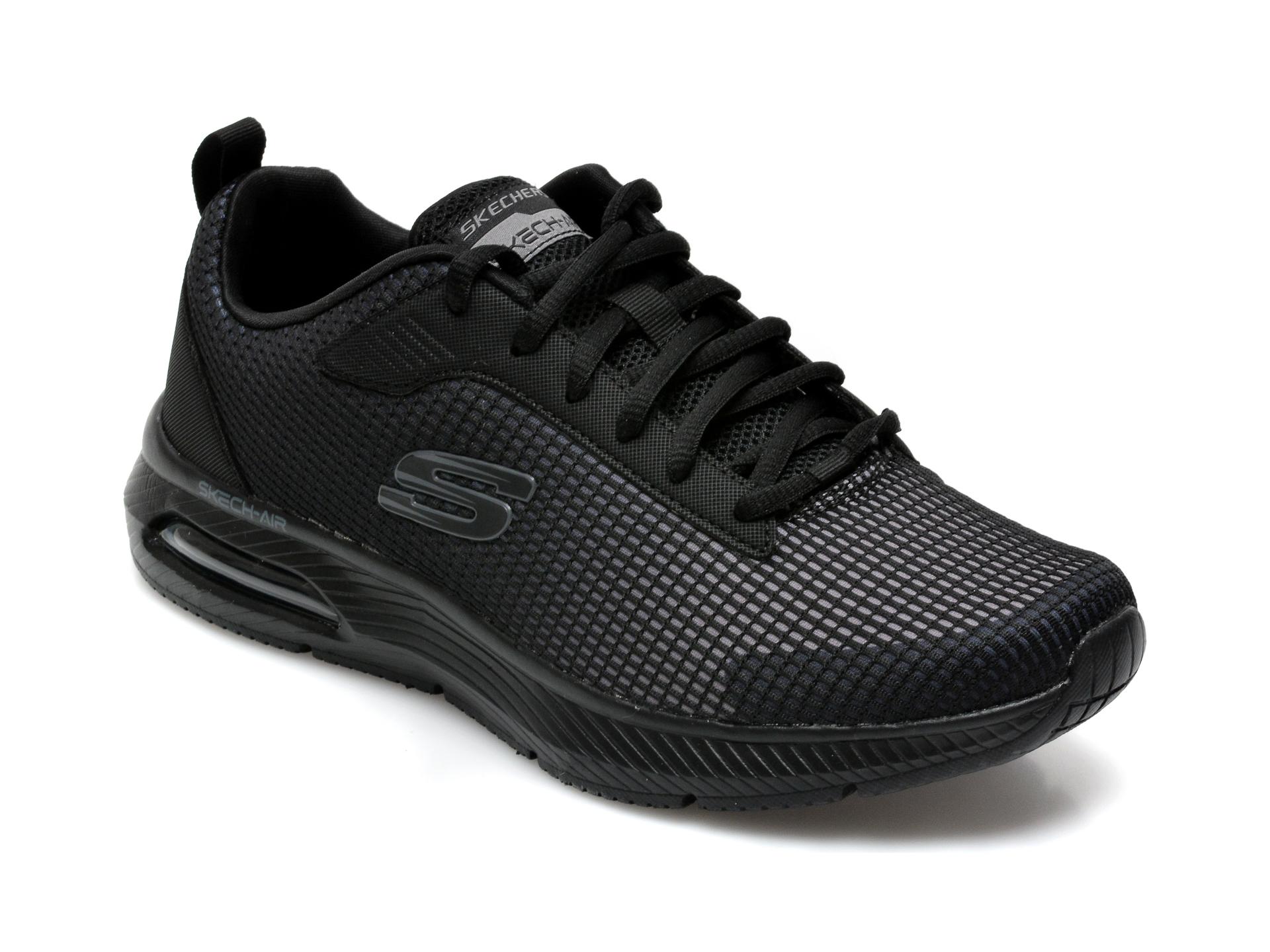 Pantofi sport SKECHERS negri, Dyna-Air Blyce, din material textil imagine