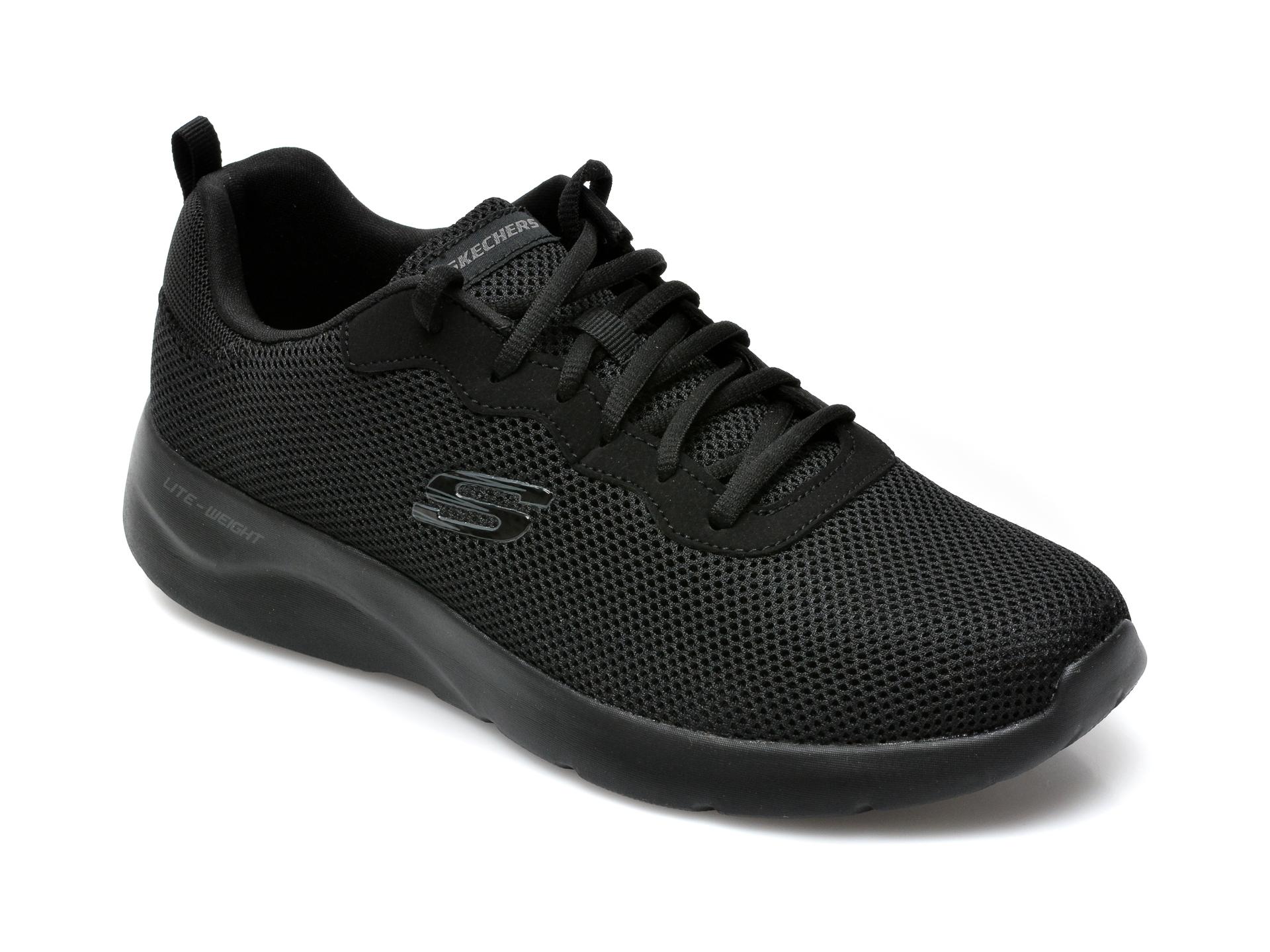Pantofi sport SKECHERS negri, Dynamight 2.0 Rayhill, din material textil imagine