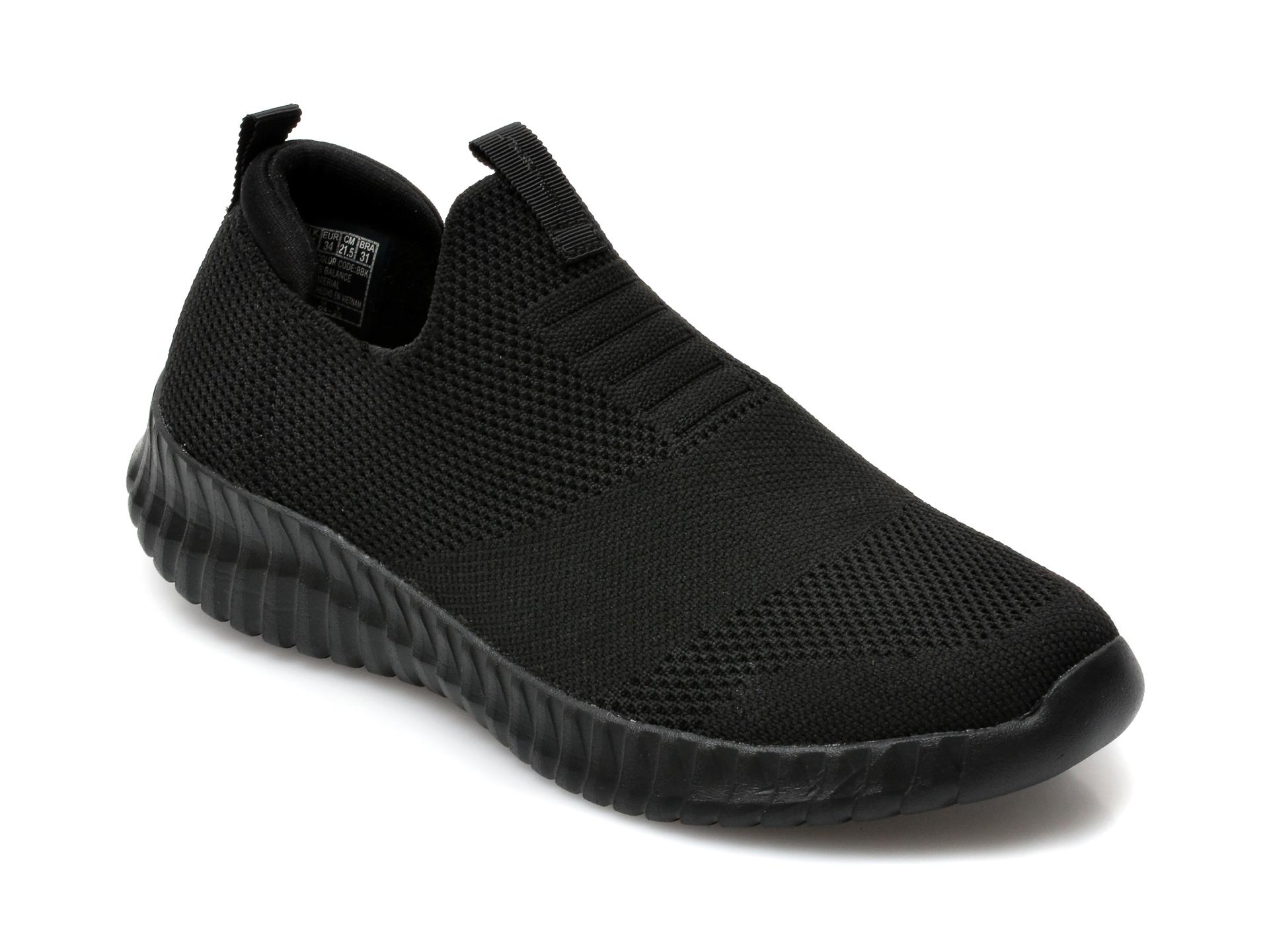 Pantofi sport SKECHERS negri, Elite Flex Wasik, din material textil