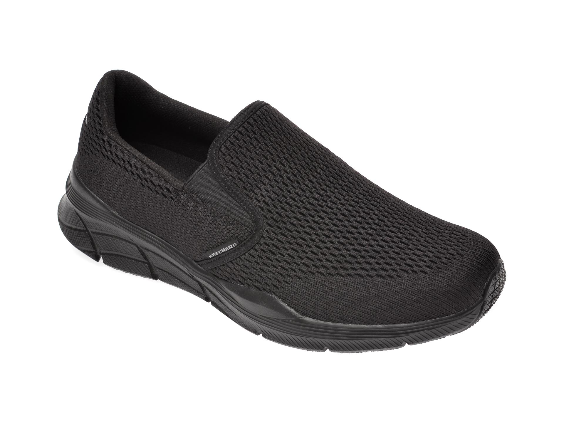 Pantofi sport SKECHERS negri, Equalizer 4.0, din material textil imagine