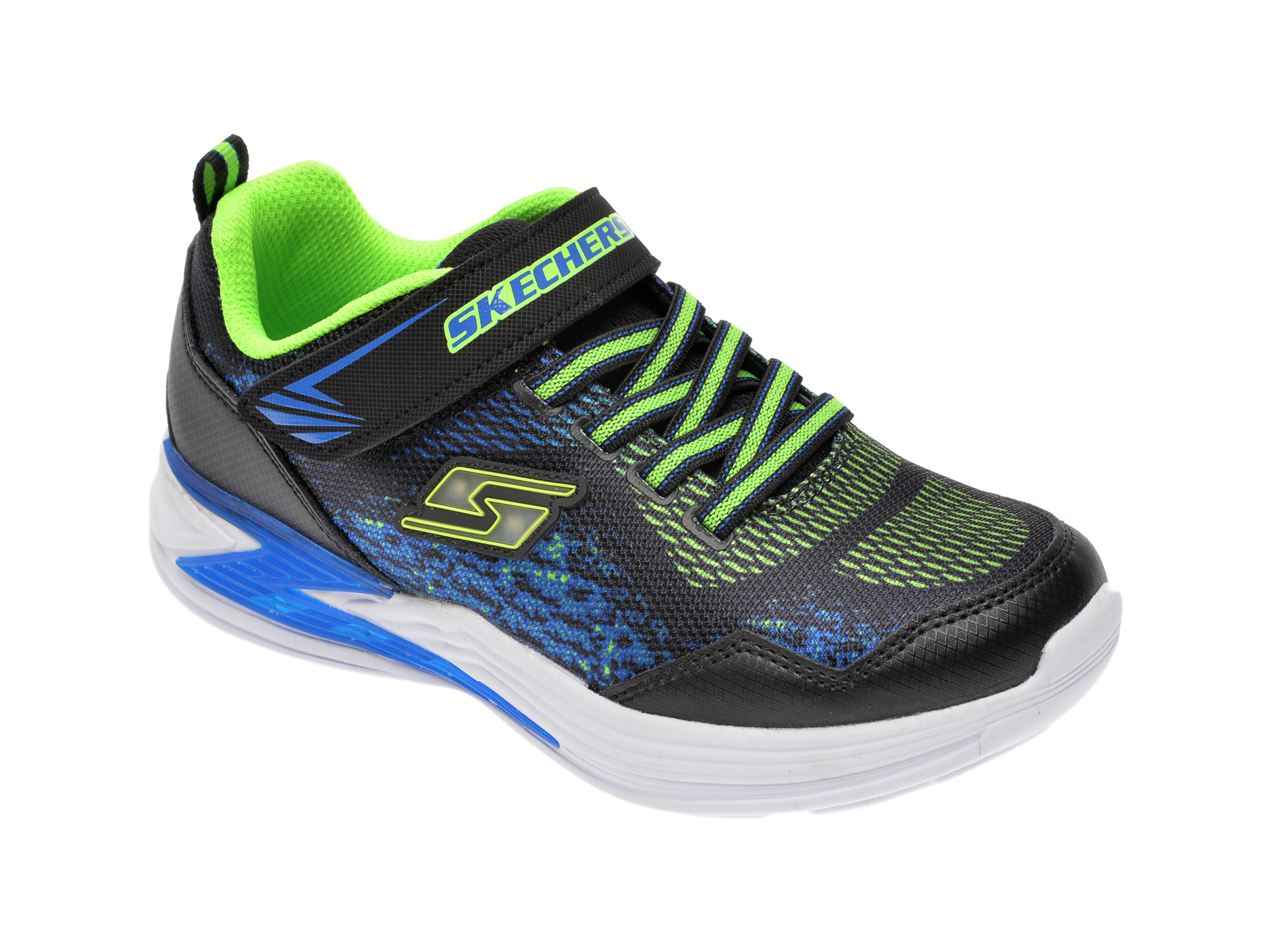 Pantofi sport SKECHERS negri, Erupters Iii Derlo, din material textil New