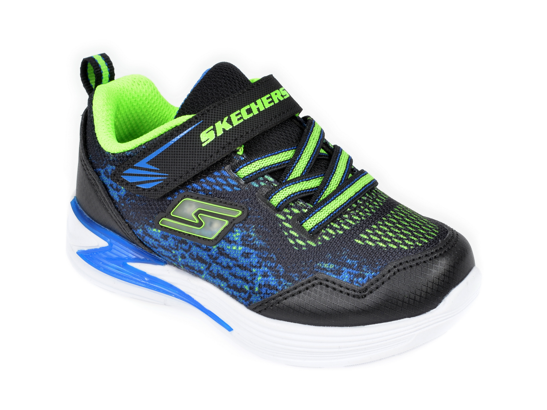 Pantofi sport SKECHERS negri, Erupters Iii Derlo, din material textil imagine