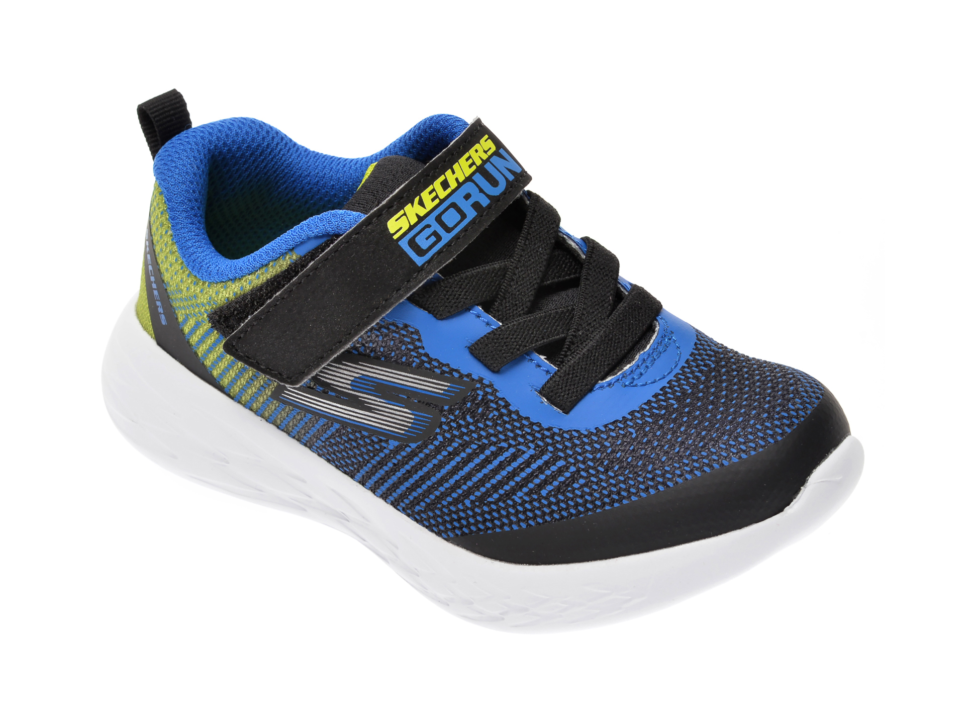 Pantofi sport SKECHERS negri, Go Run 600, din material textil New