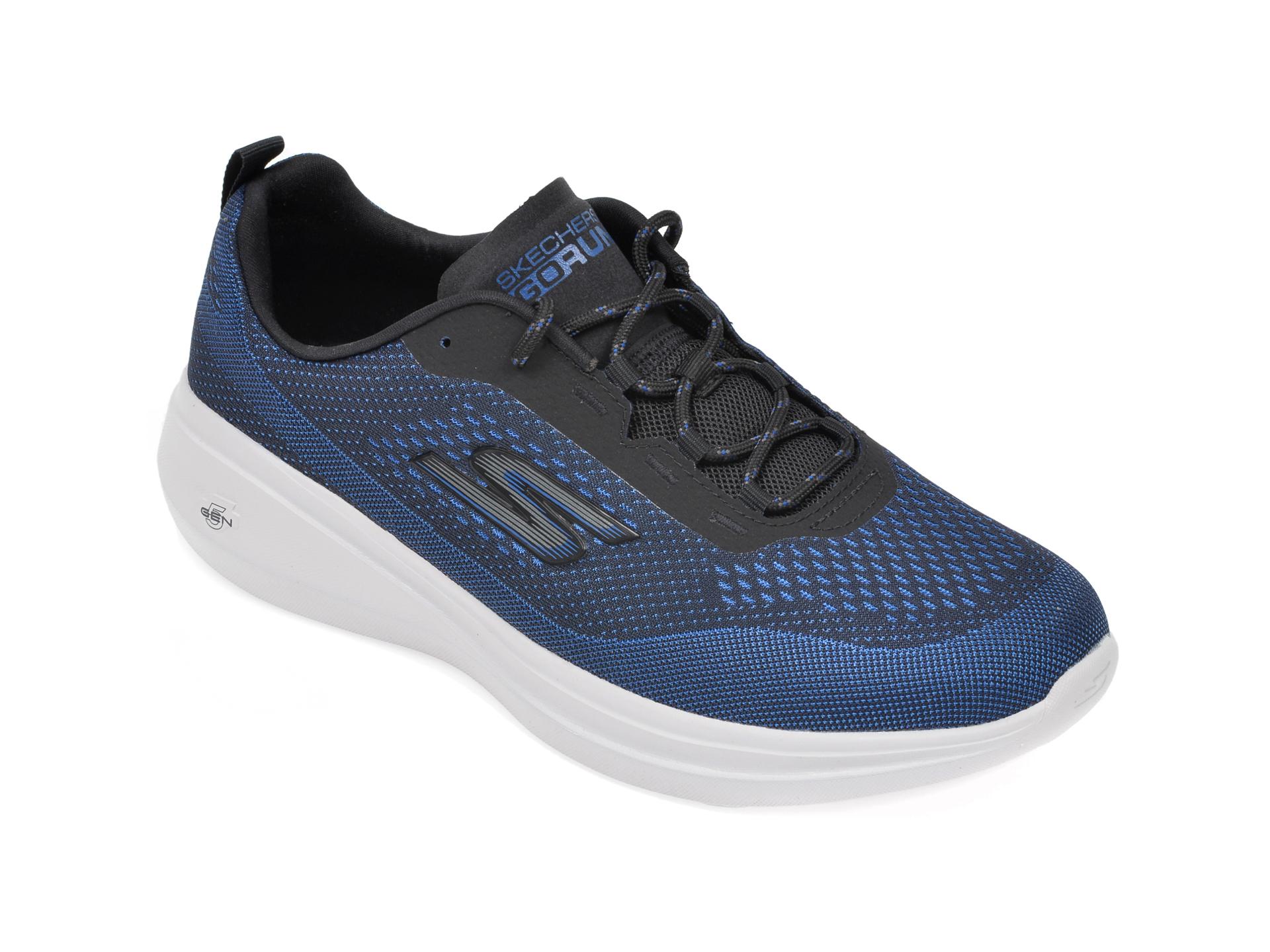 Pantofi sport SKECHERS negri, Go Run Fast Arco, din material textil imagine