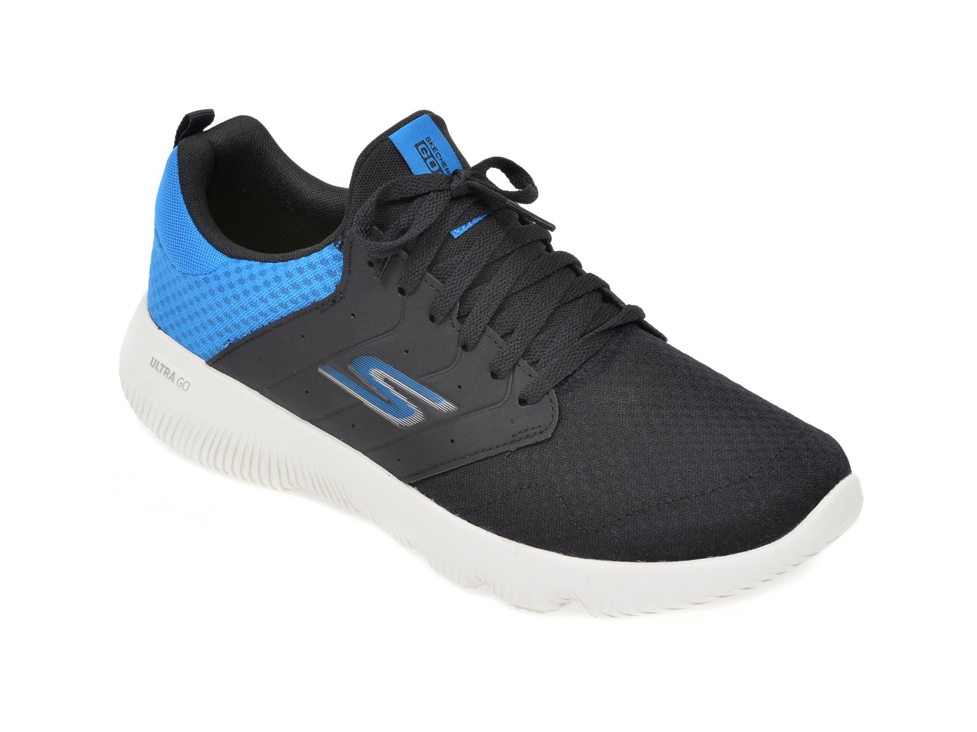 Pantofi sport SKECHERS negri, Go Run Focus Athos, din material textil imagine