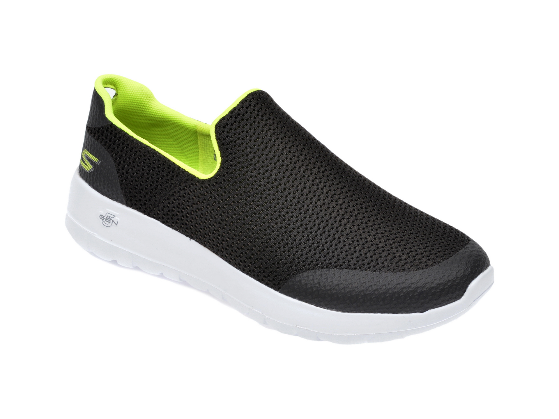 Pantofi sport SKECHERS negri, Go Walk Max Focal, din material textil imagine