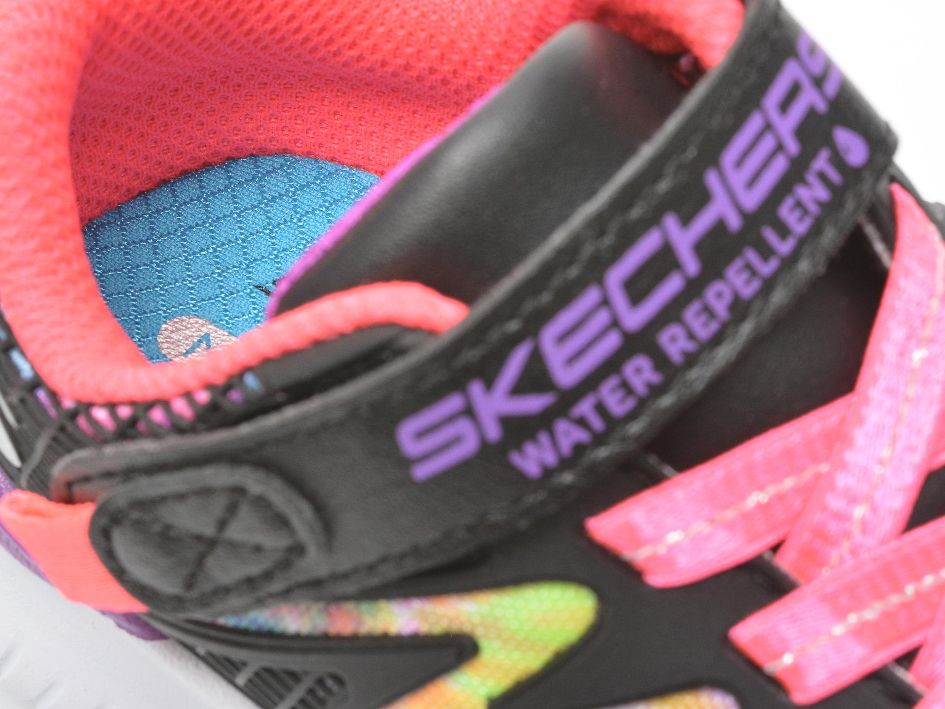 Pantofi sport SKECHERS negri, JUMPSTERS, din piele ecologica - 3