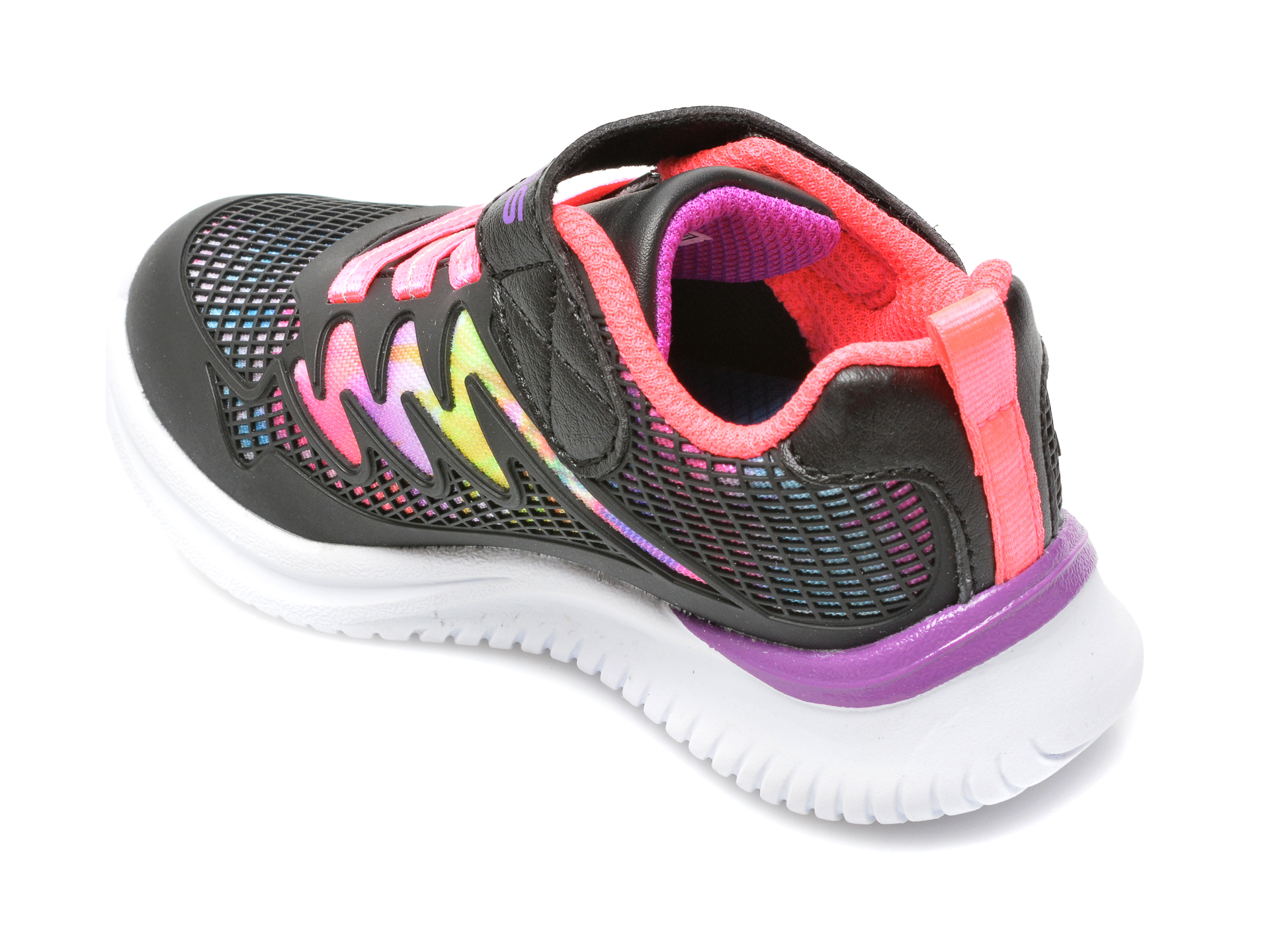 Pantofi sport SKECHERS negri, JUMPSTERS, din piele ecologica - 5