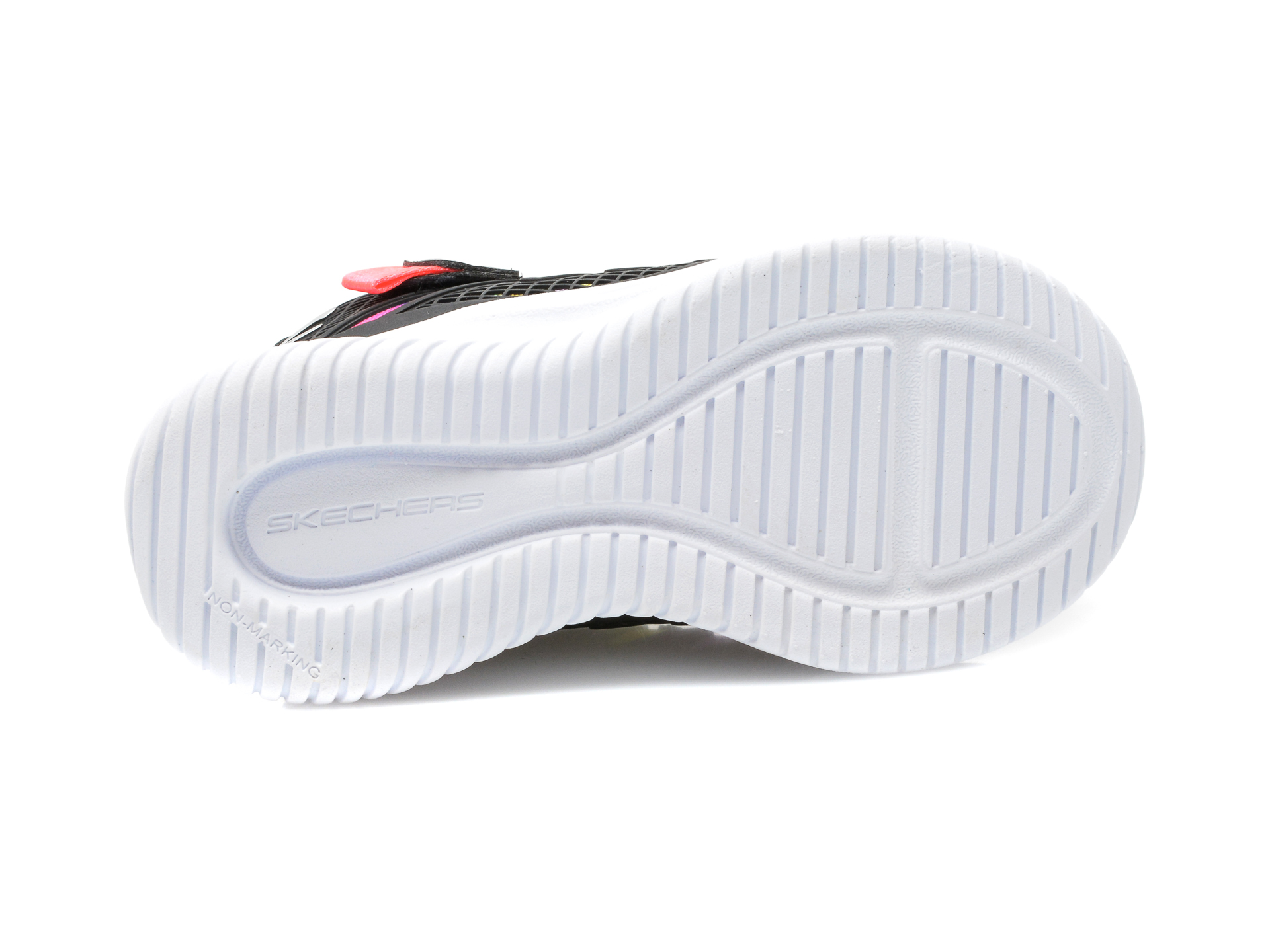 Pantofi sport SKECHERS negri, JUMPSTERS, din piele ecologica - 7