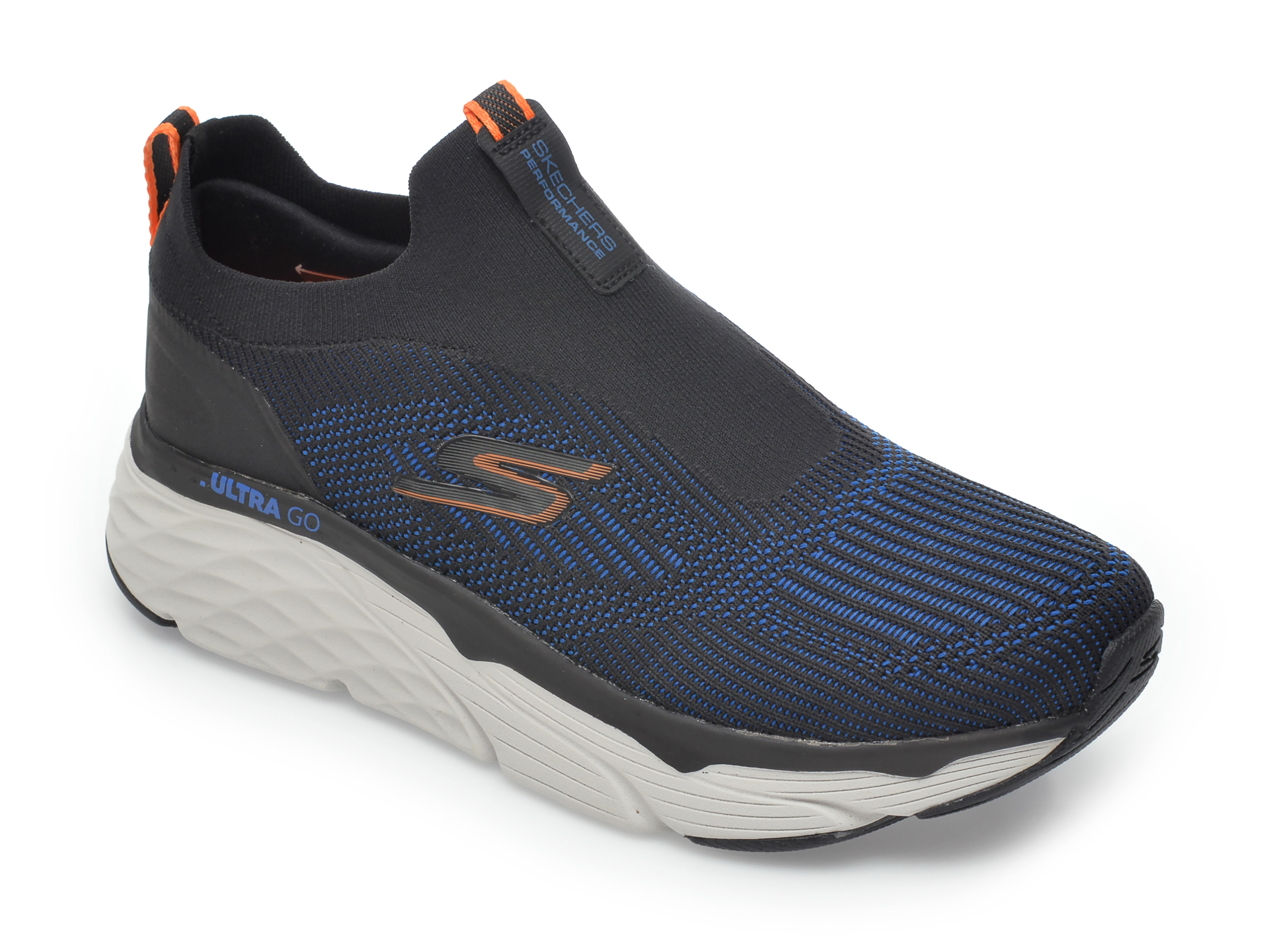 Pantofi sport SKECHERS negri, Max Cushioning Elite Amplifier, din material textil imagine