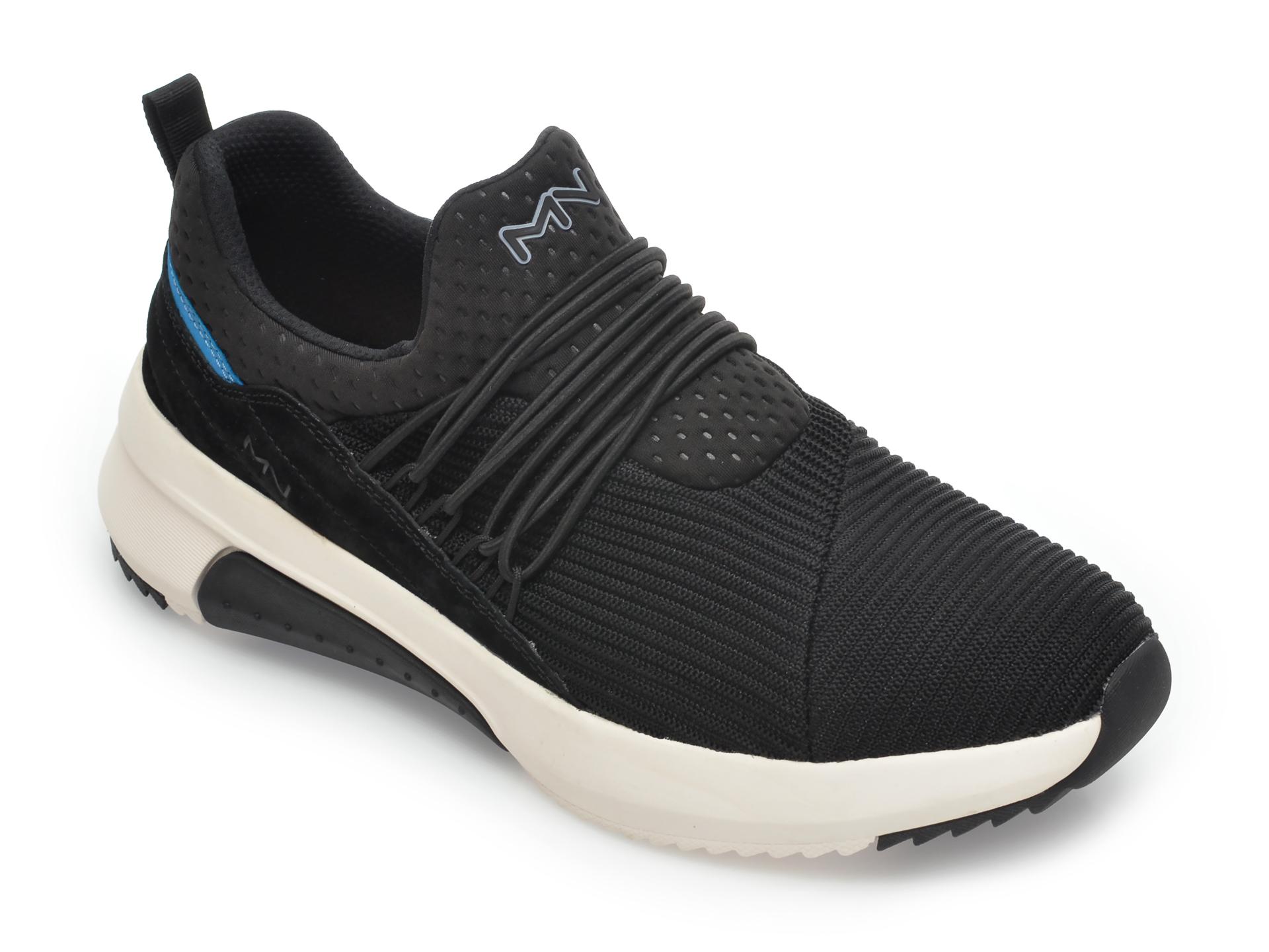 Pantofi sport SKECHERS negri, Modern Jogger 2.0Hellems, din material textil imagine