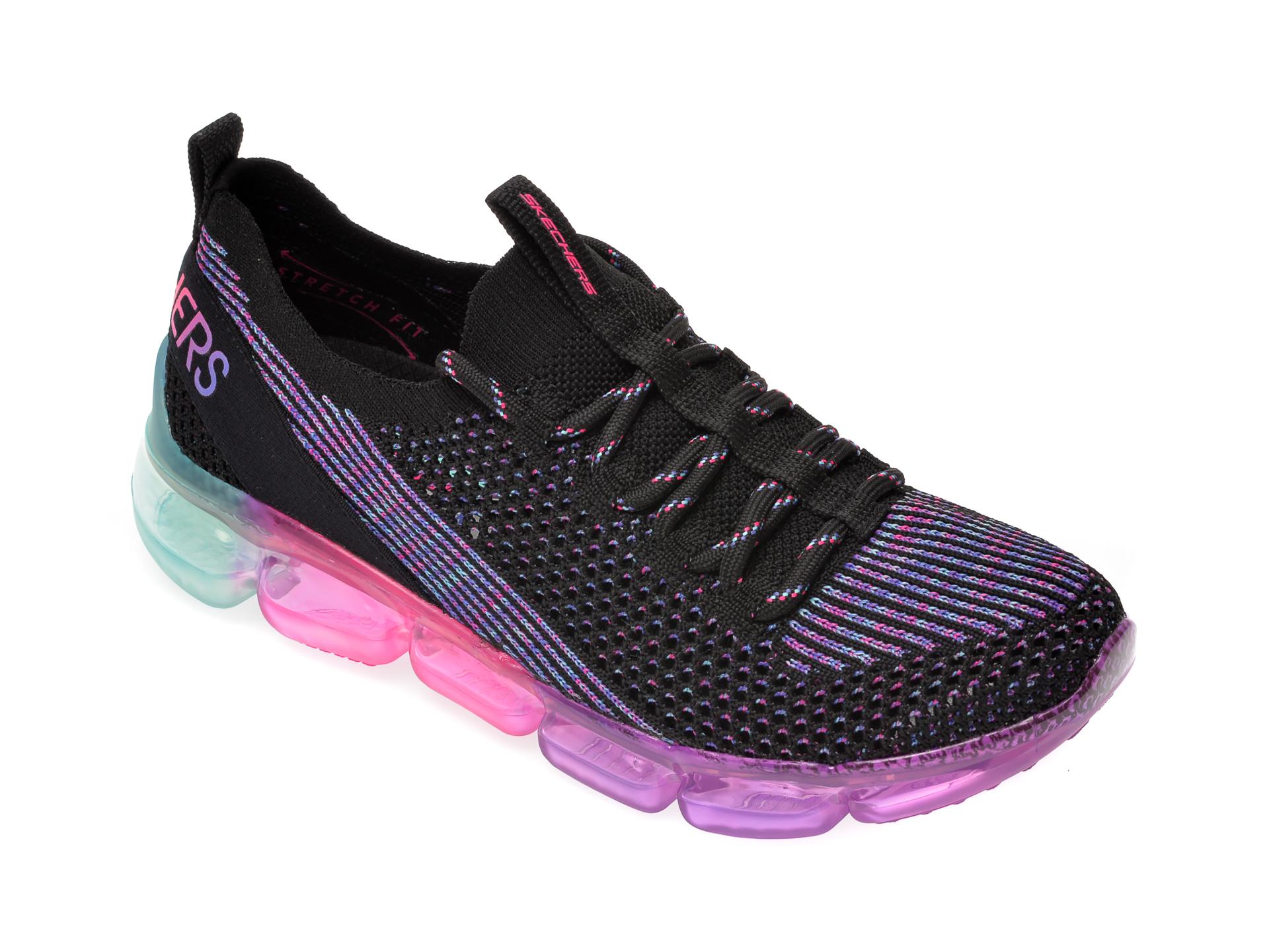 Pantofi sport SKECHERS negri, Skech-Air 92, din material textil