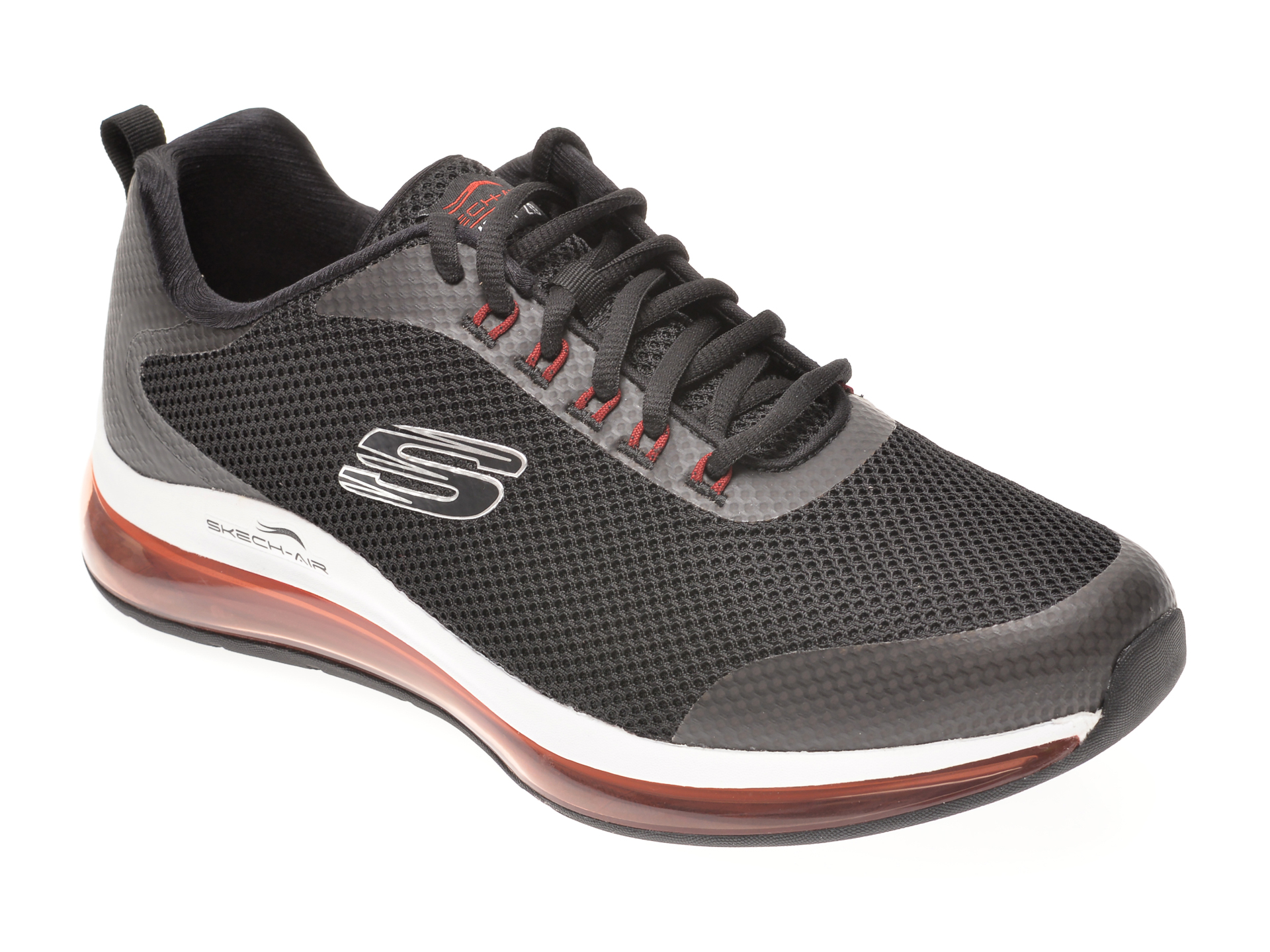 Pantofi sport SKECHERS negri, SKECH-AIR ELEMENT 2.0, din material textil imagine