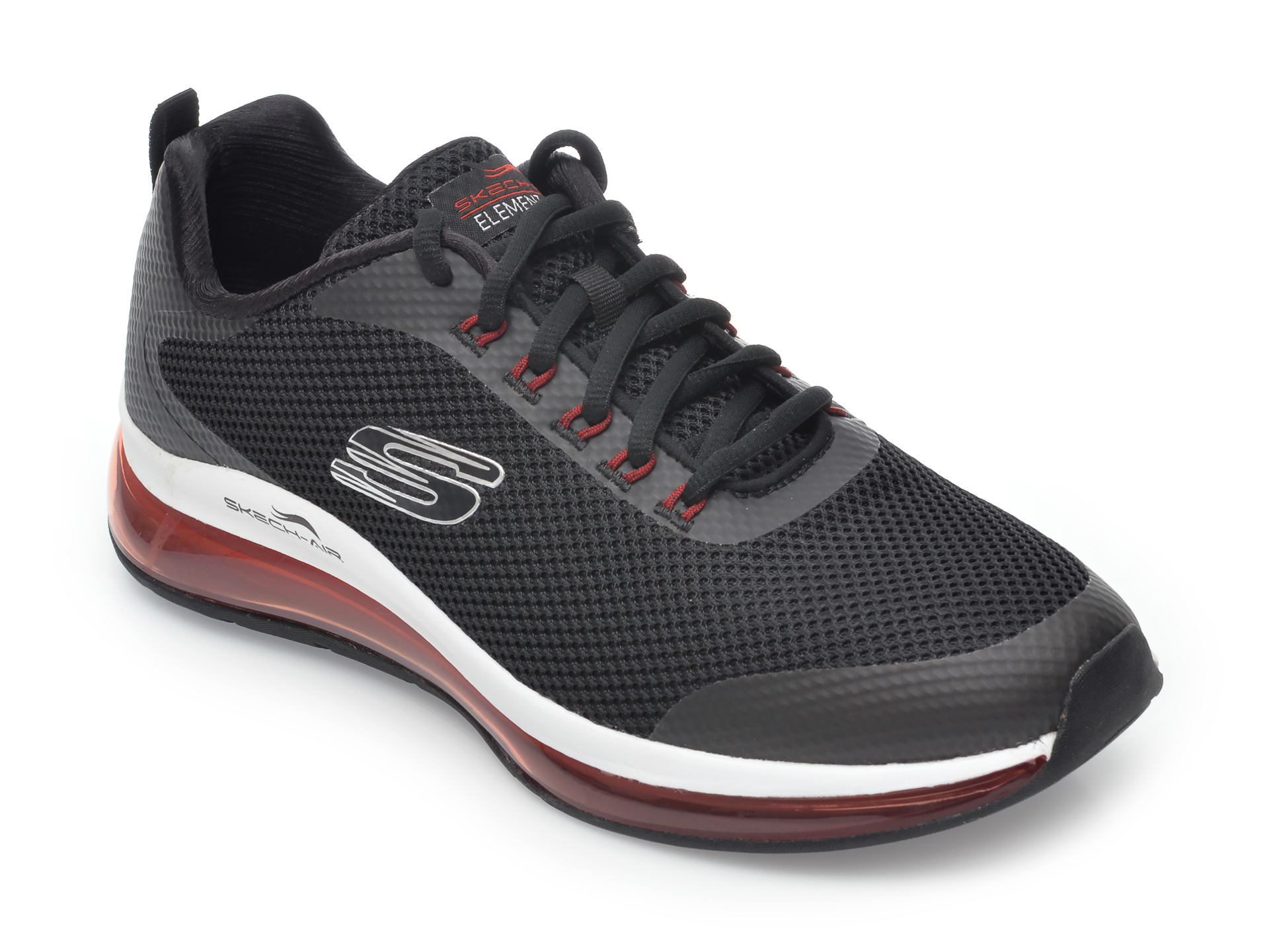 Pantofi sport SKECHERS negri, Skech-Air Element 2.0 Lomarc, din material textil imagine