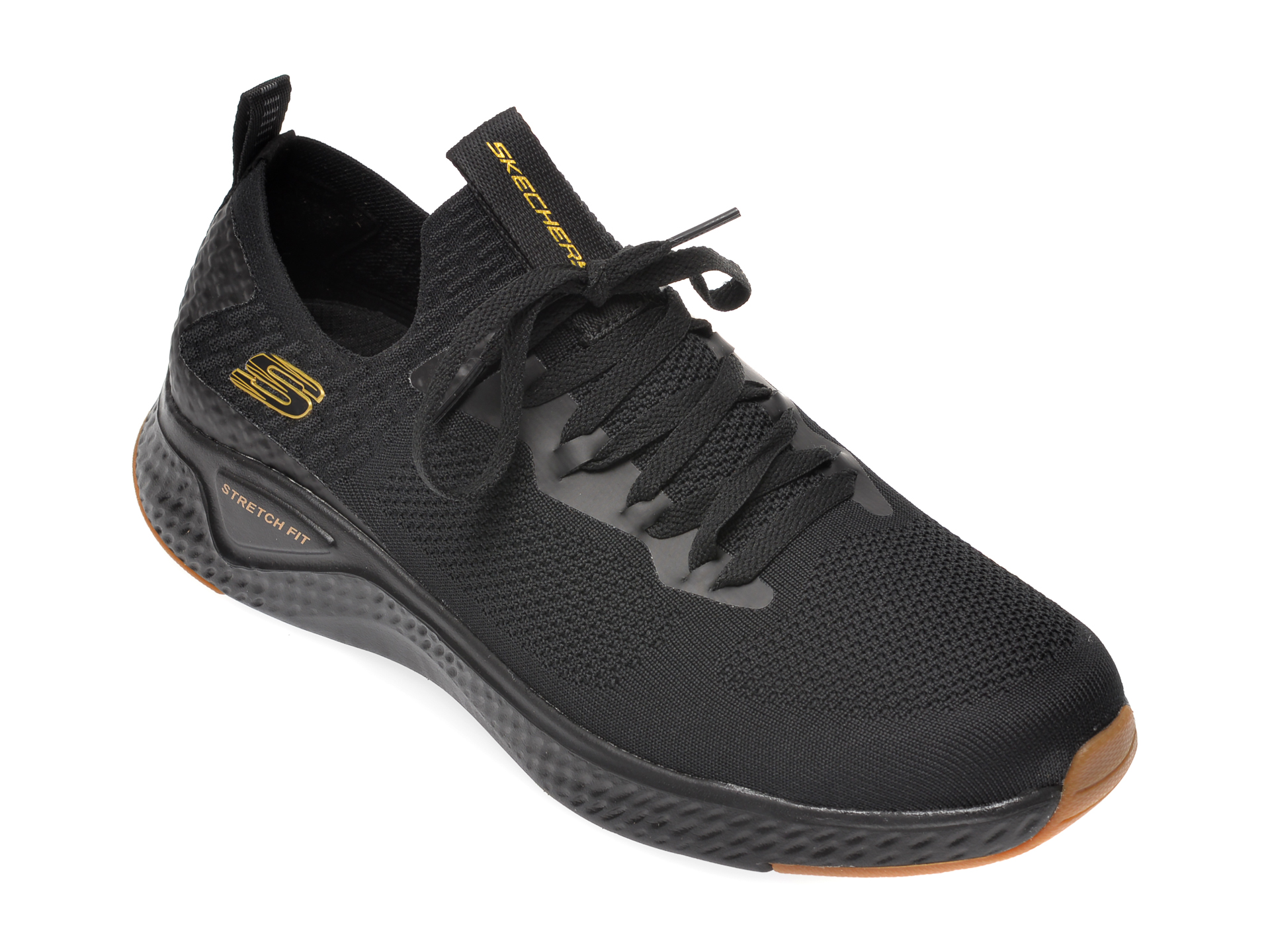 Pantofi sport SKECHERS negri, Solar Fuse, din material textil imagine