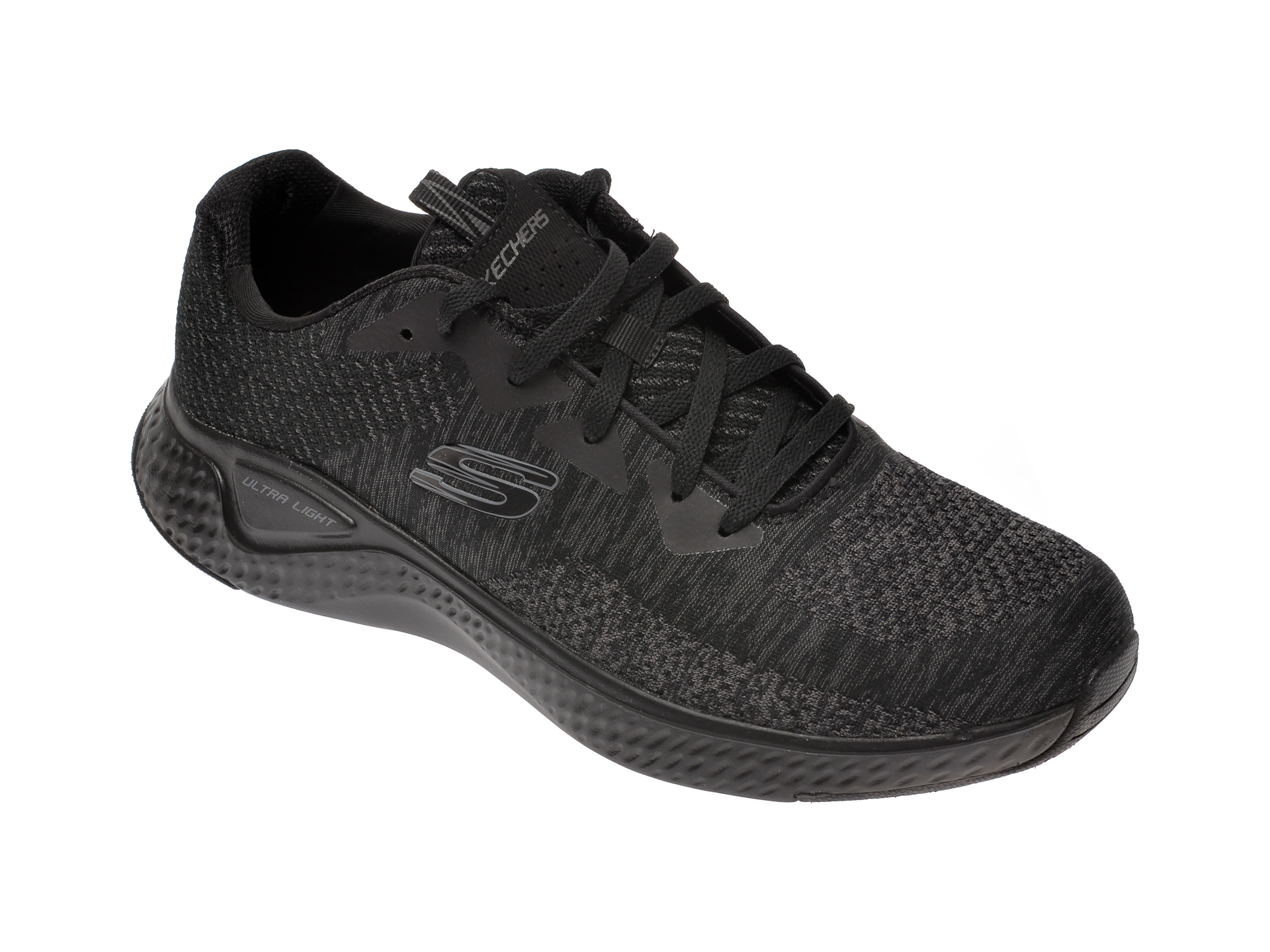 Pantofi sport SKECHERS negri, Solar Fuse Kryzik, din material textil imagine