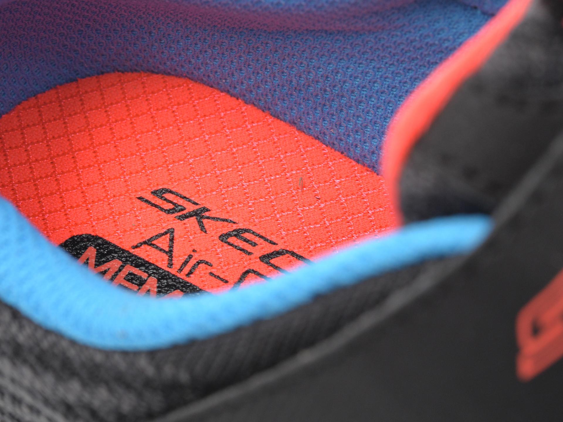 Pantofi sport SKECHERS negri, Solar Fuse Speed Blitz, din material textil - 3