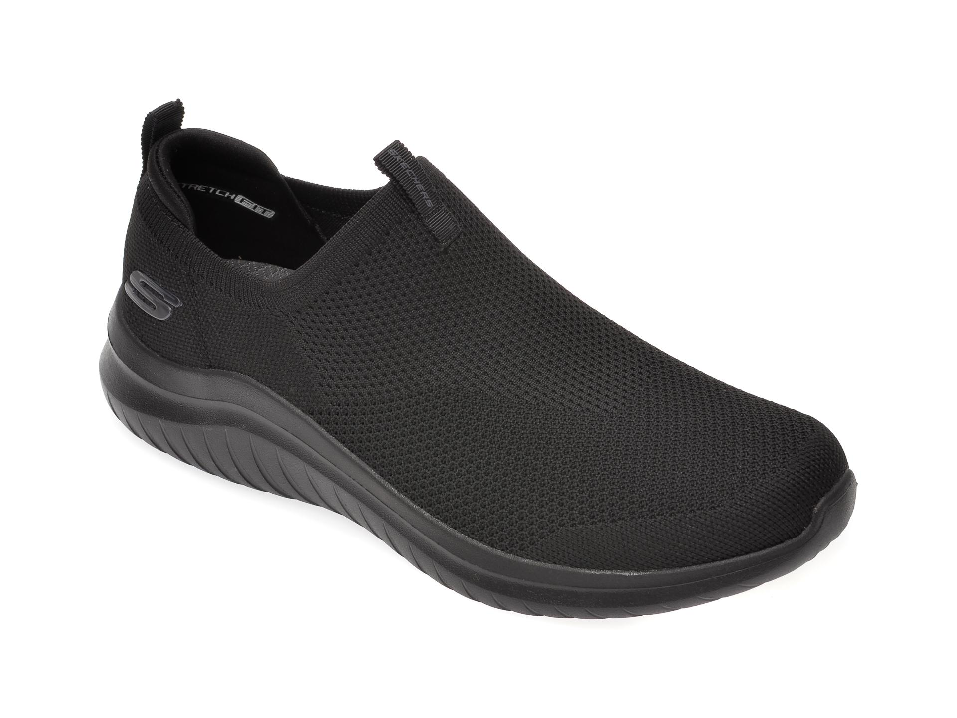 Pantofi sport SKECHERS negri, Ultra Flex 2.0, din material textil imagine