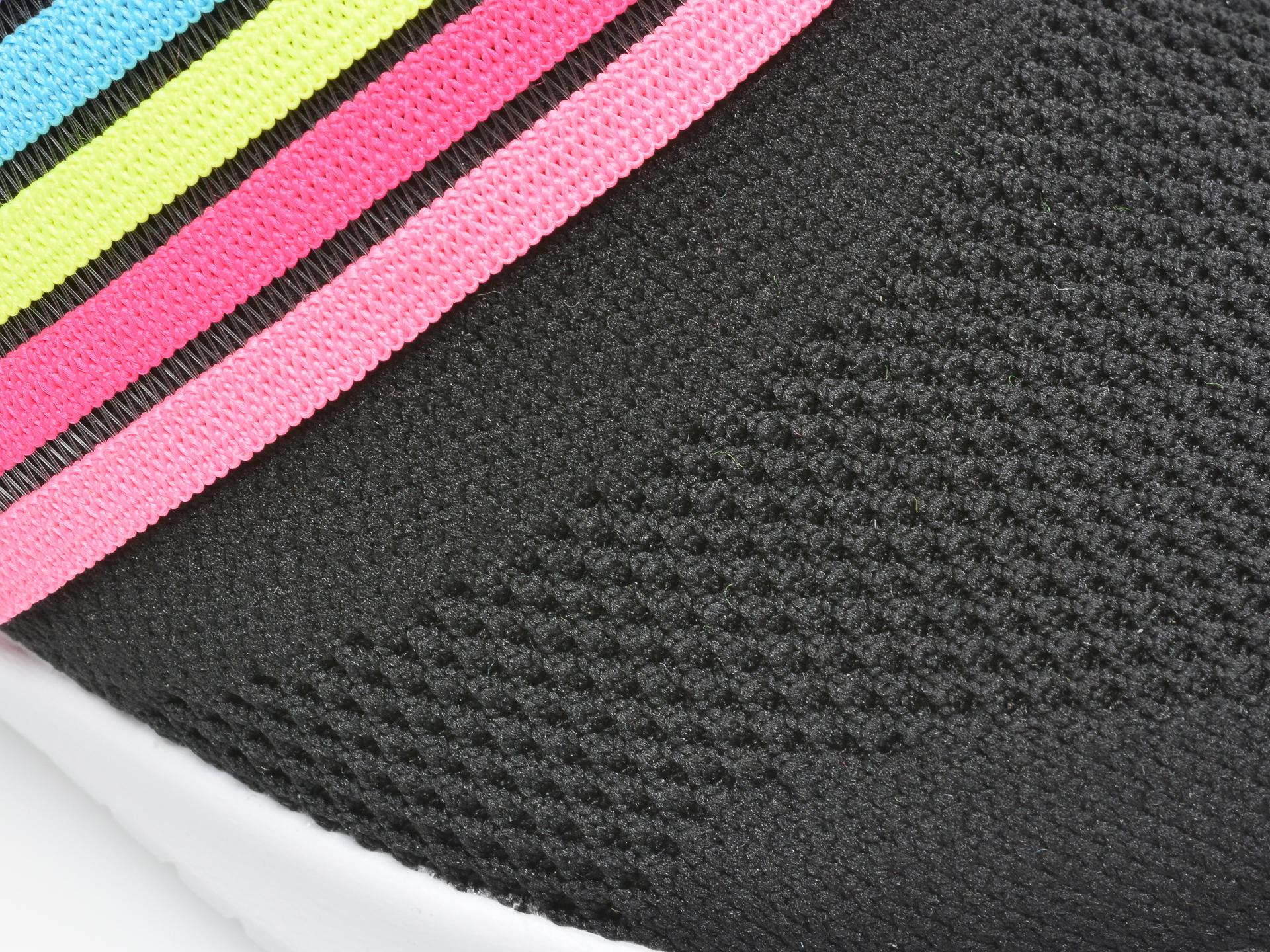 Pantofi sport SKECHERS negri, Ultra Flex Brightful Day, din material textil - 2