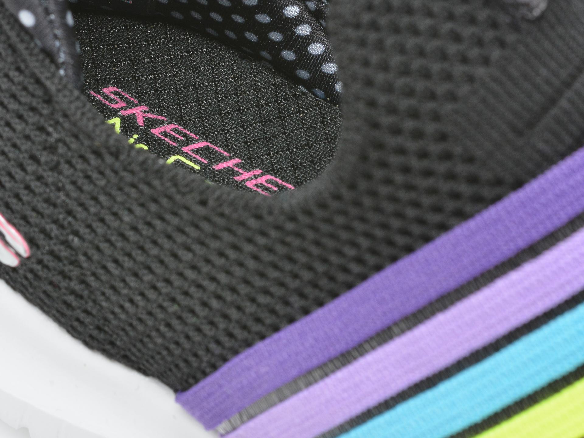 Pantofi sport SKECHERS negri, Ultra Flex Brightful Day, din material textil - 3