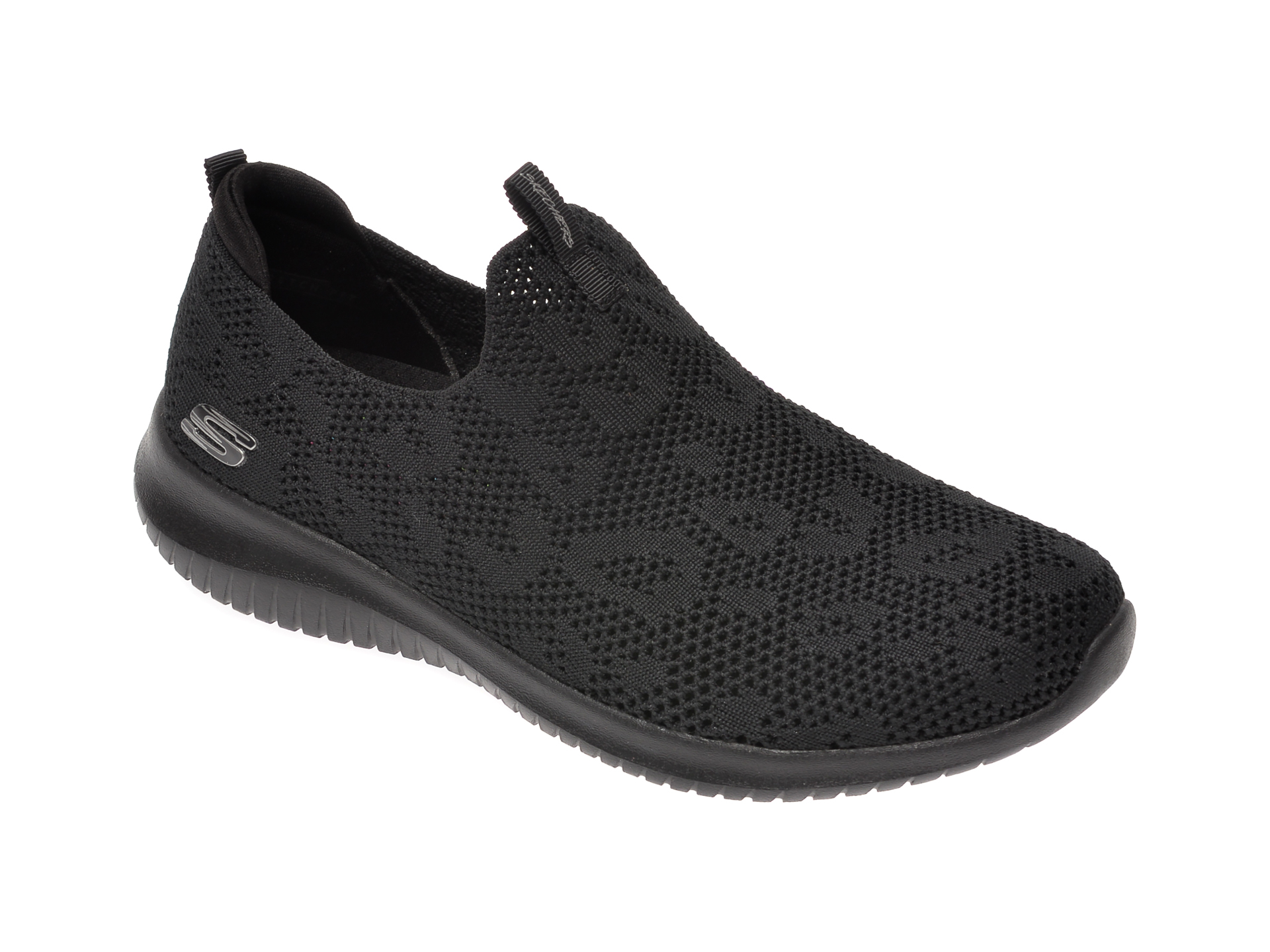 Pantofi sport SKECHERS negri, Ultra Flex, din material textil imagine